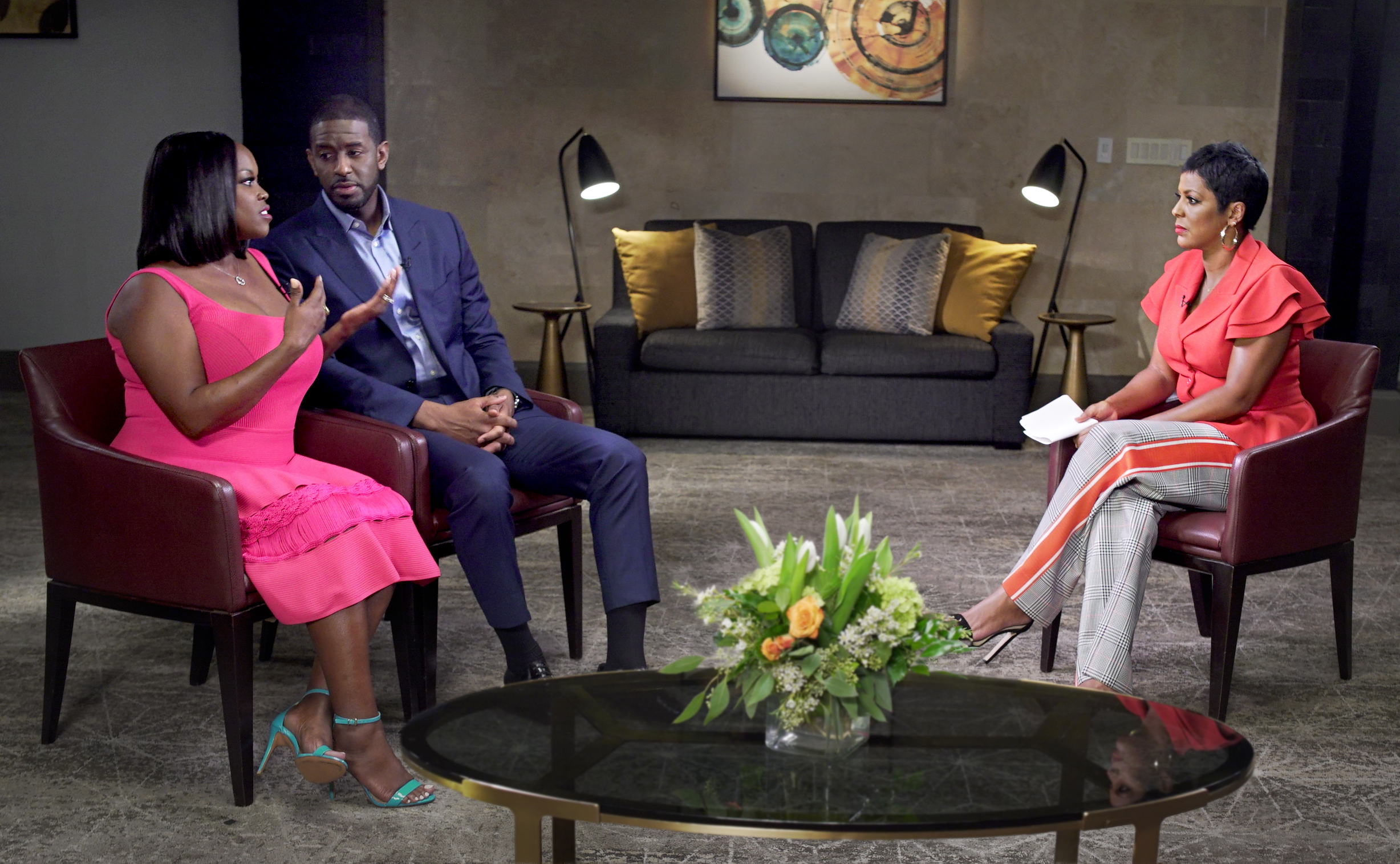 Tamron Hall Returns With An Exclusive Interview With Andrew Gillum And His Wife