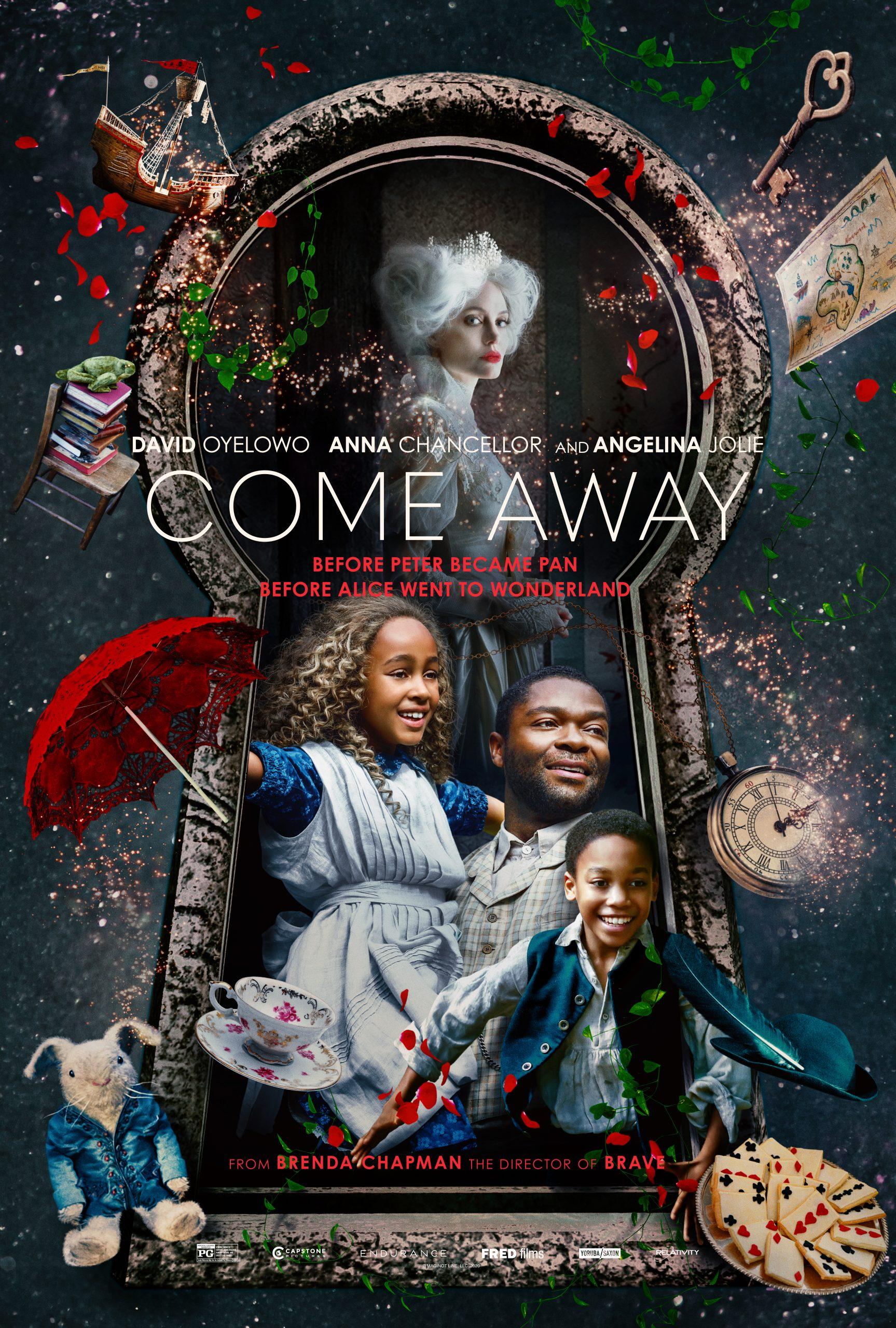 New Movie: COME AWAY Starring David Oyelowo, Anna Chancellor, Gugu Mbatha-Raw, Angelina Jolie