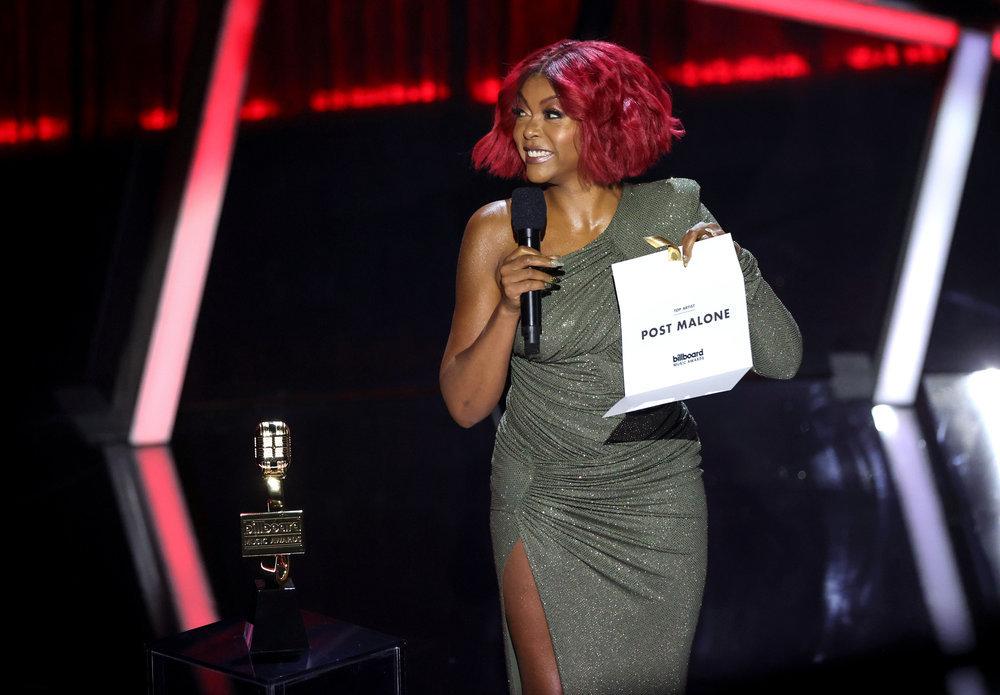 Wardrobe Breakdown: Taraji P. Henson At Billboard Music Awards