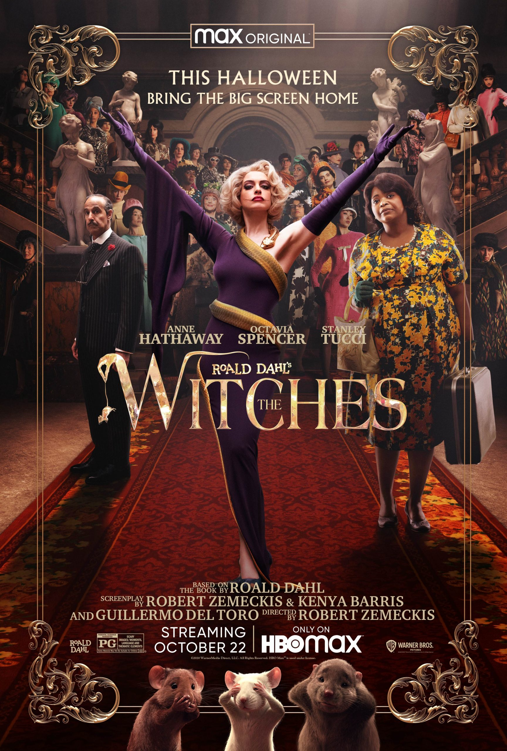 New Movie: Roald Dahl's The Witches Starring Octavia Spencer, Chris Rock, Anne Hathaway