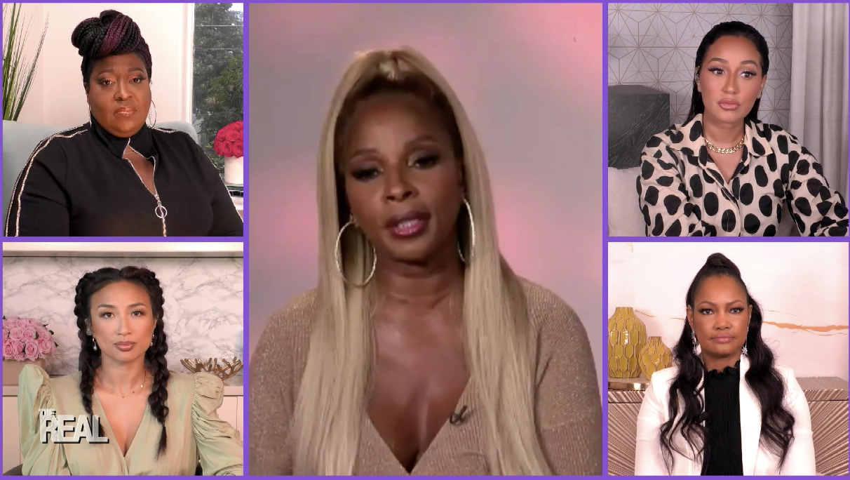 Singer Mary J. Blige Stops By The Real