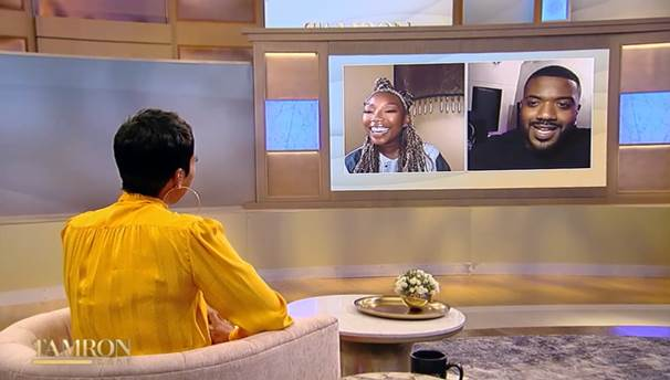 Grammy-Winning Singer Brandy Stops By The Tamron Hall Show
