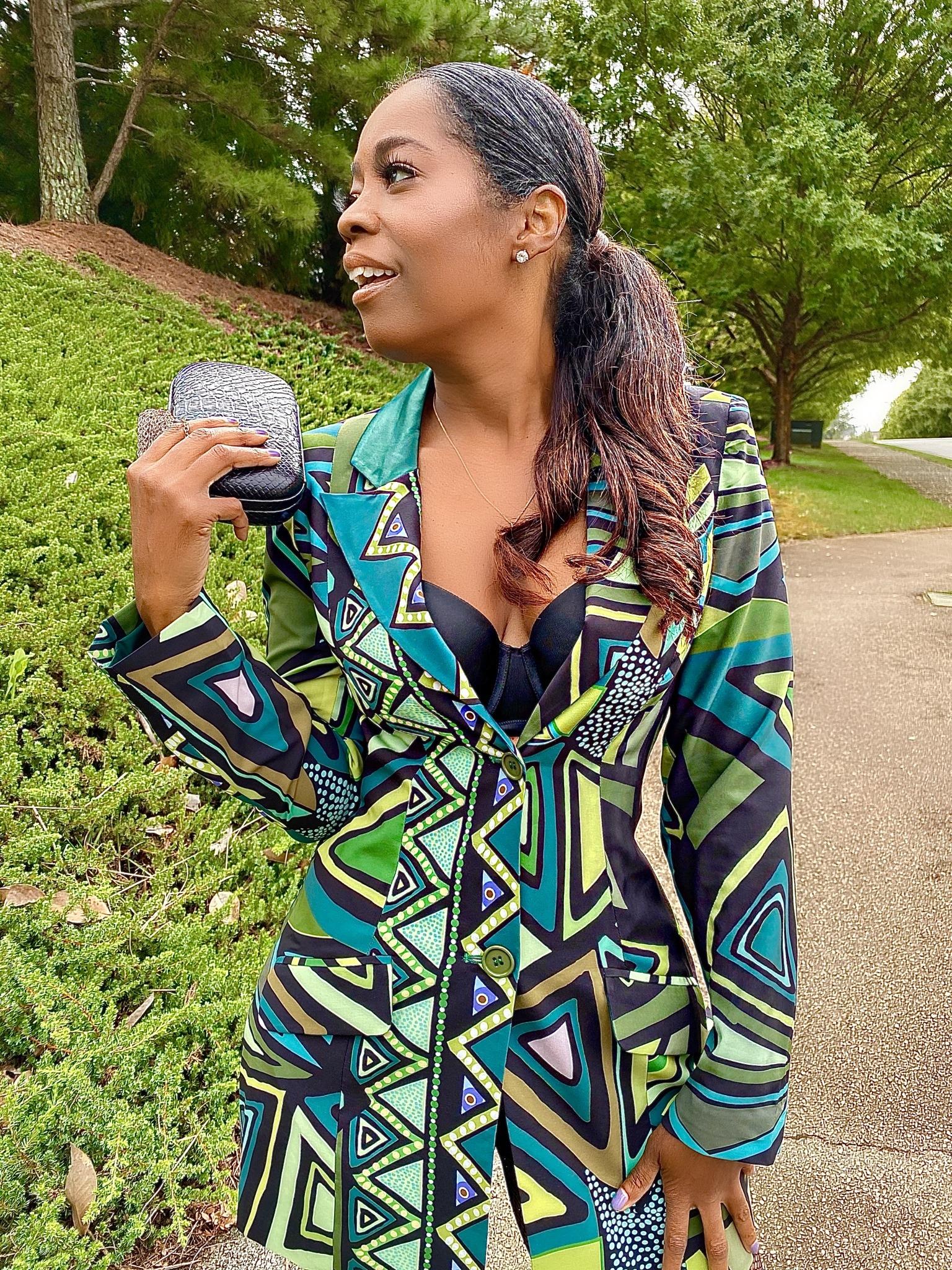 My Style: Kahindo NYC Tuxedo Jacket