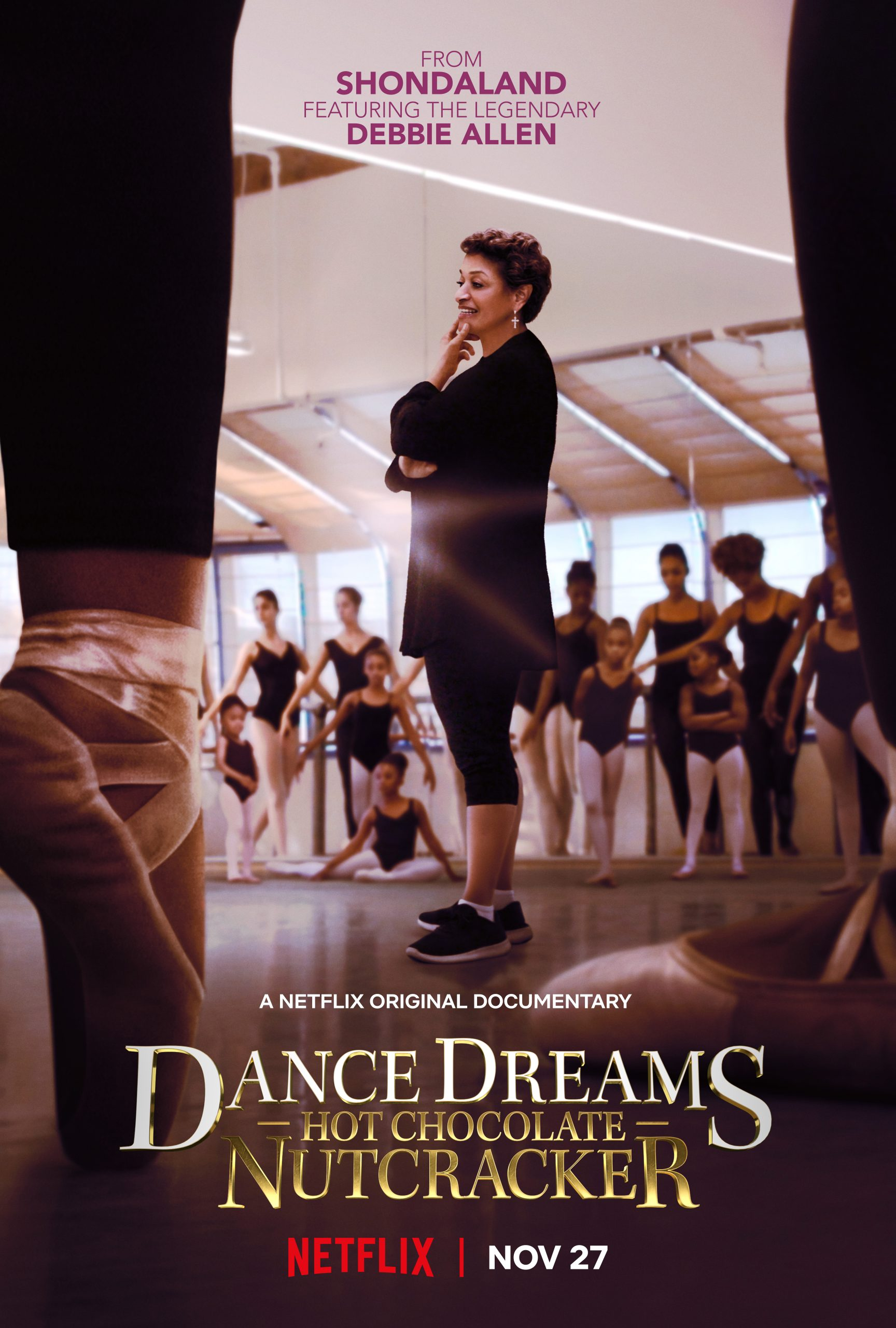 Netflix's Dance Dreams: Hot Chocolate Nutcracker Starring Debbie Allen