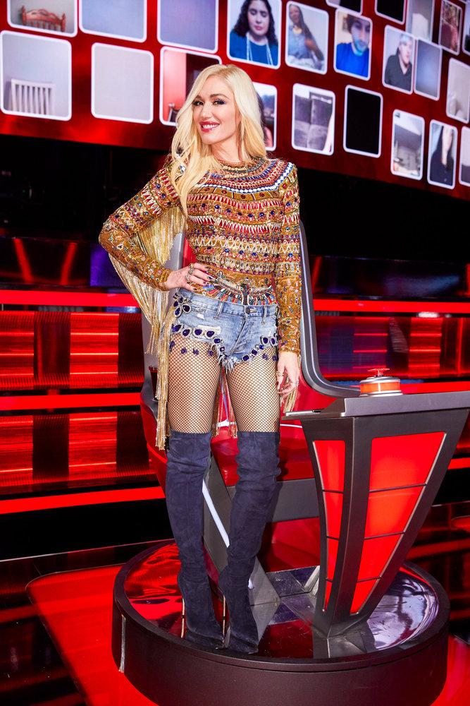 Wardrobe Breakdown: Gwen Stefani On The Voice