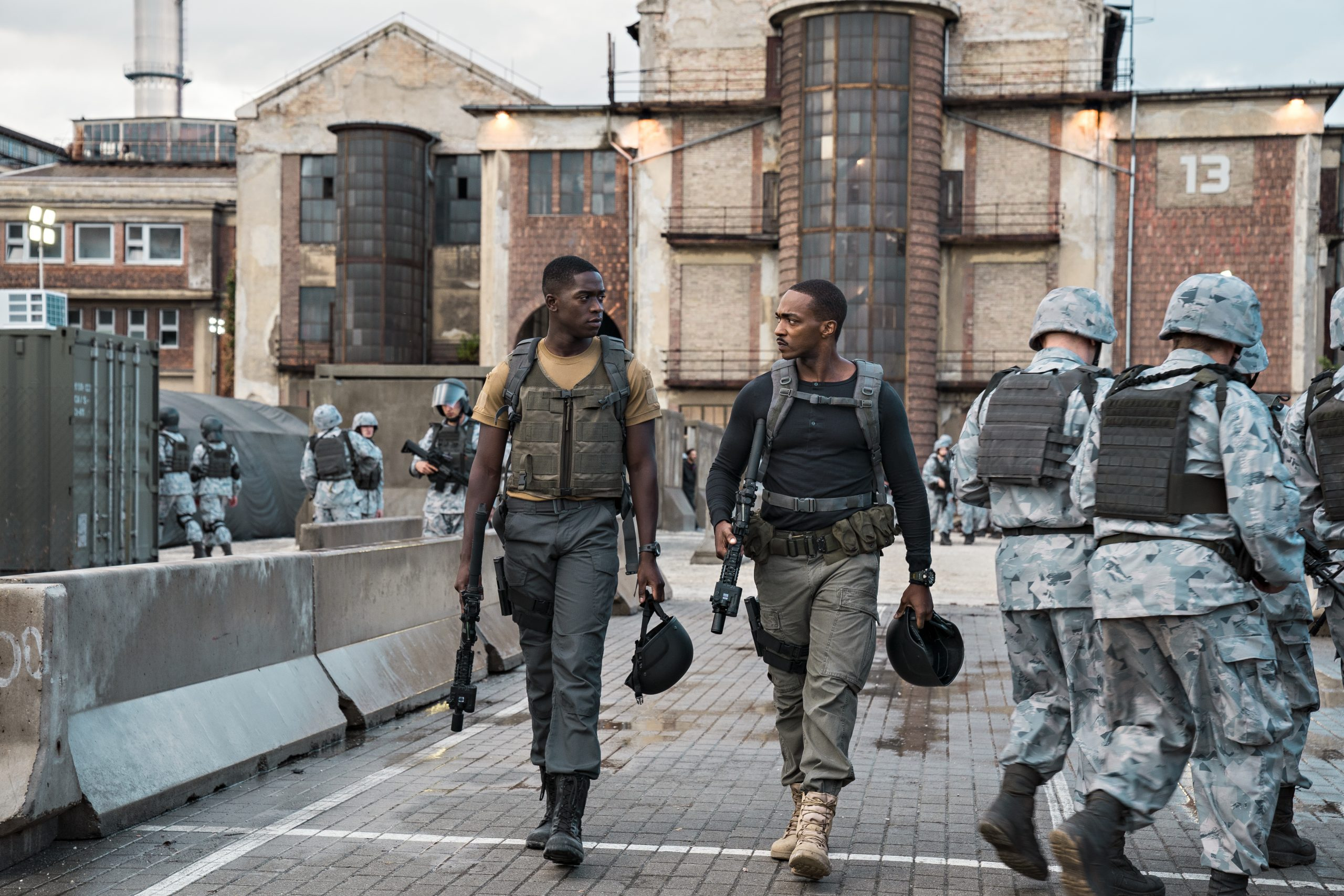 New Movie: Netflix's 'Outside The Wire' Starring Damson Idris, Anthony Mackie