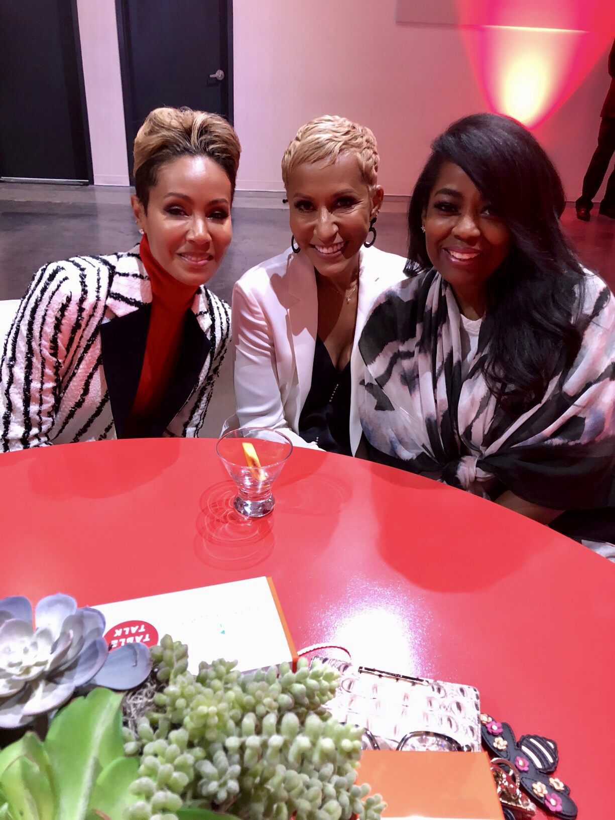 In Case You Missed It: The Ladies Of Red Table Talk Jada, Adrienne And Willow Talk About Heartbreak