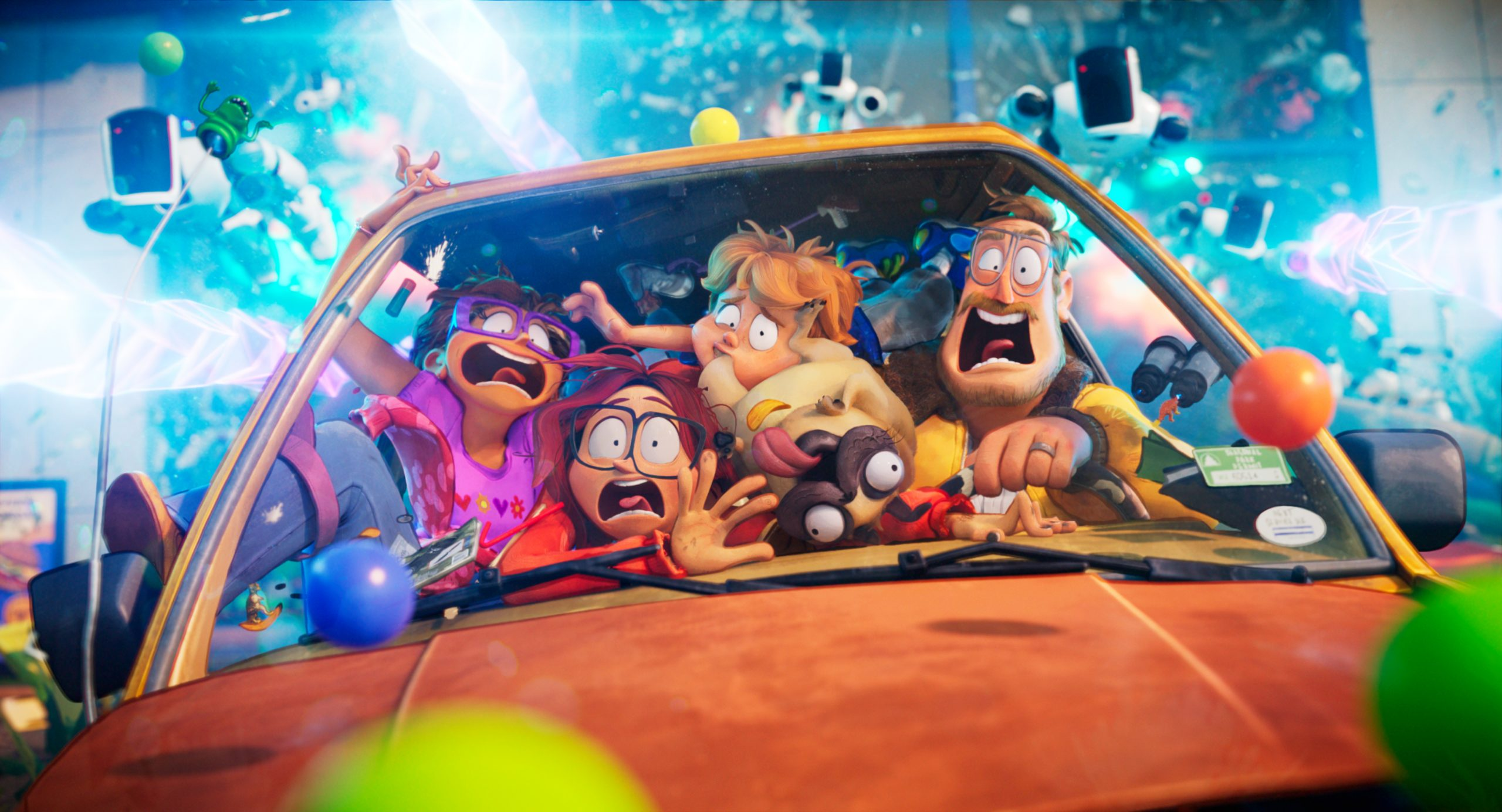 Animated Comedy: The Mitchells VS. The Machines On Netflix