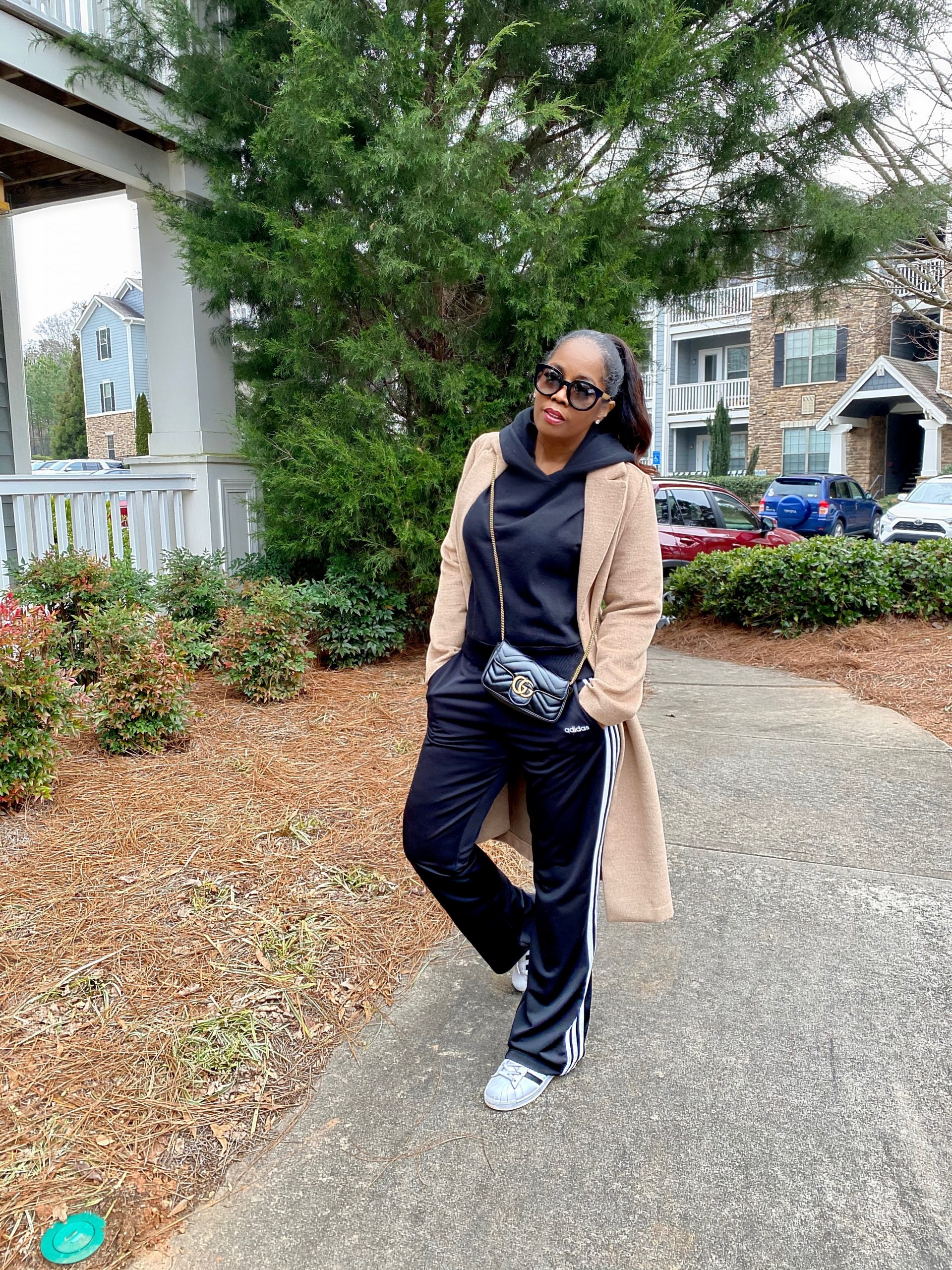 My Style: Adidas Classic Track Pants & Hoodie