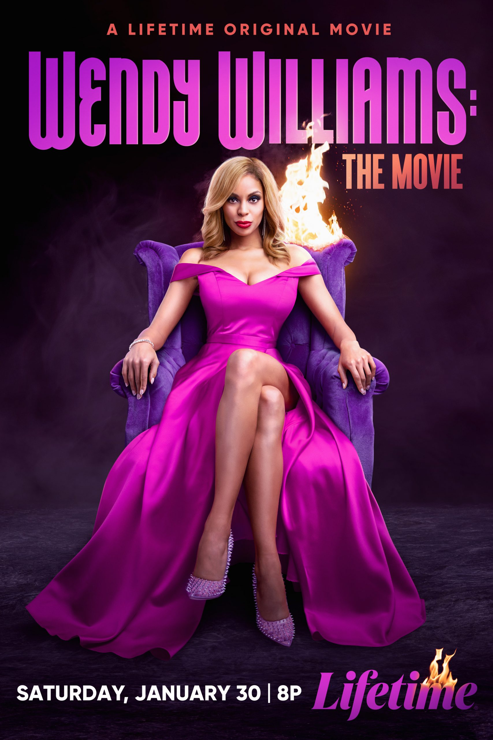 First Look: 'Wendy Williams The Movie' Starring Ciera Payton