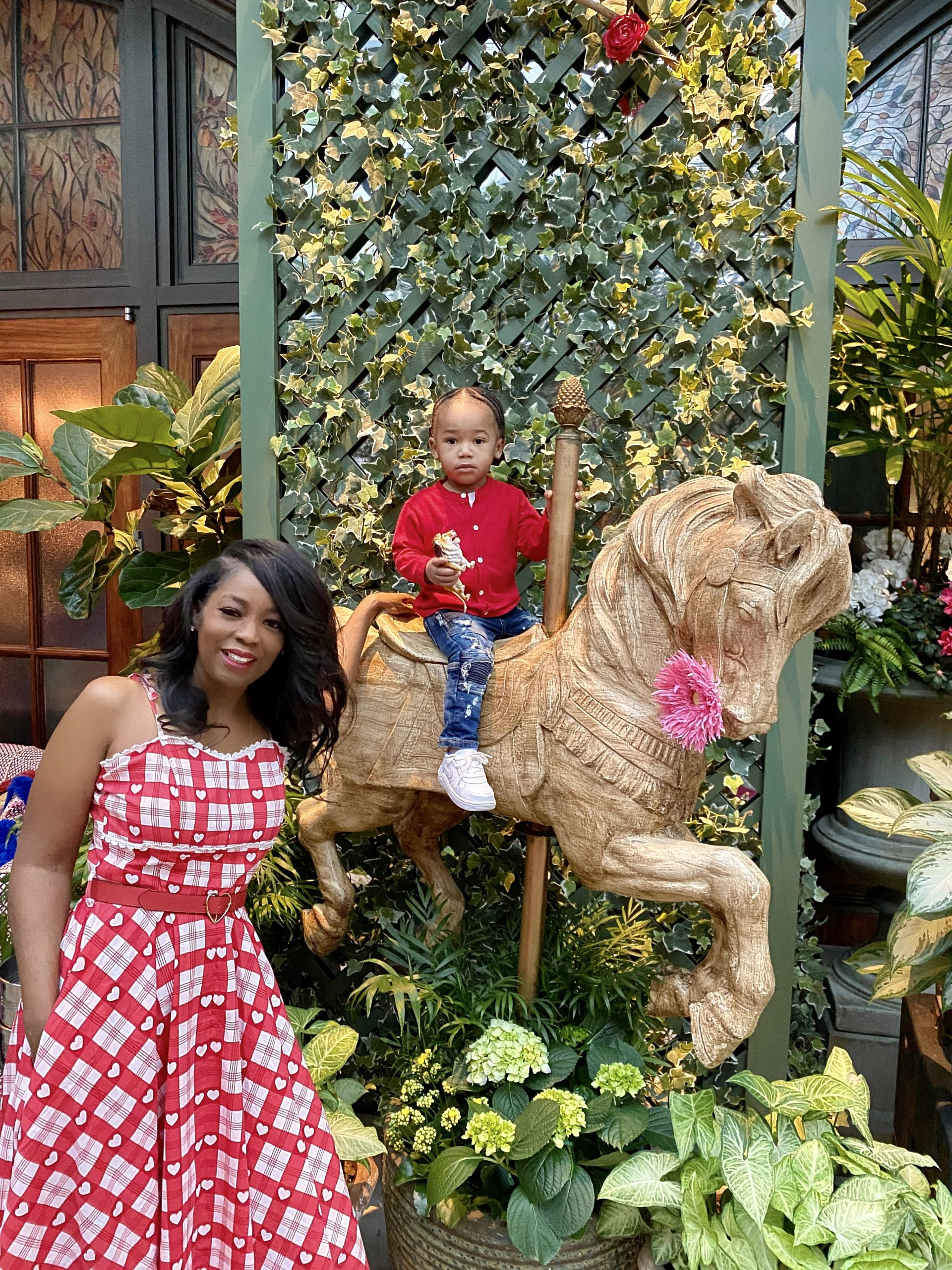 Feel Good Friday: Legend  And I Enchanted Dining Experience At 'The Garden Room'