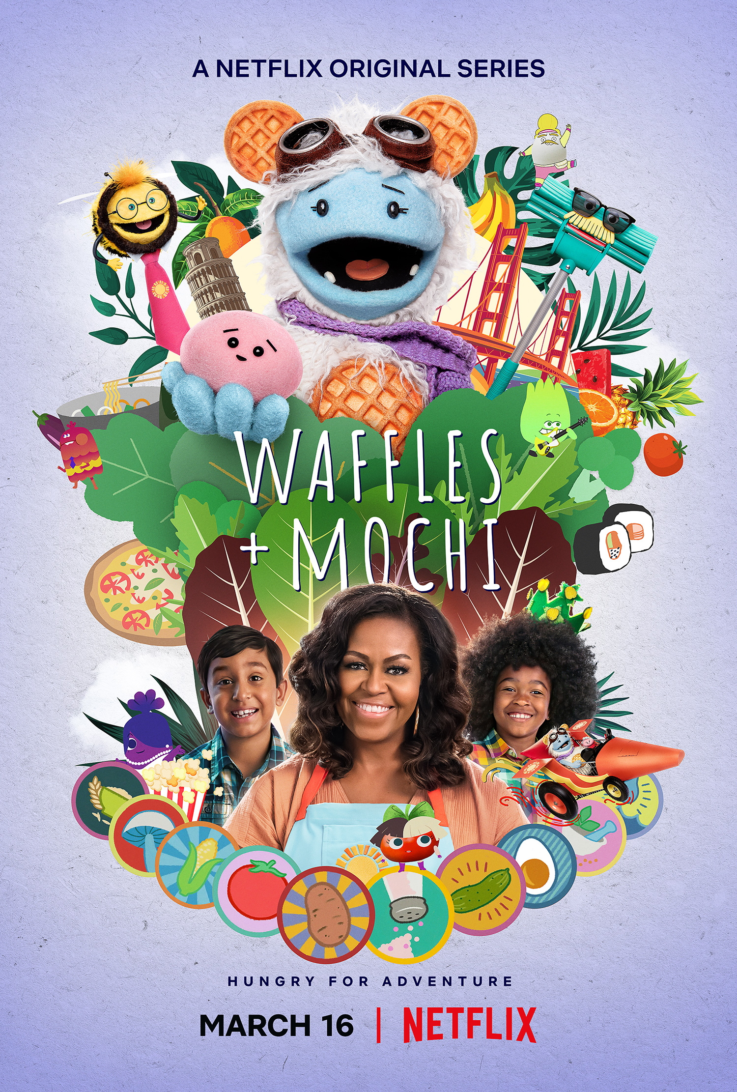 First Look: Waffles + Mochi Featuring Michelle Obama