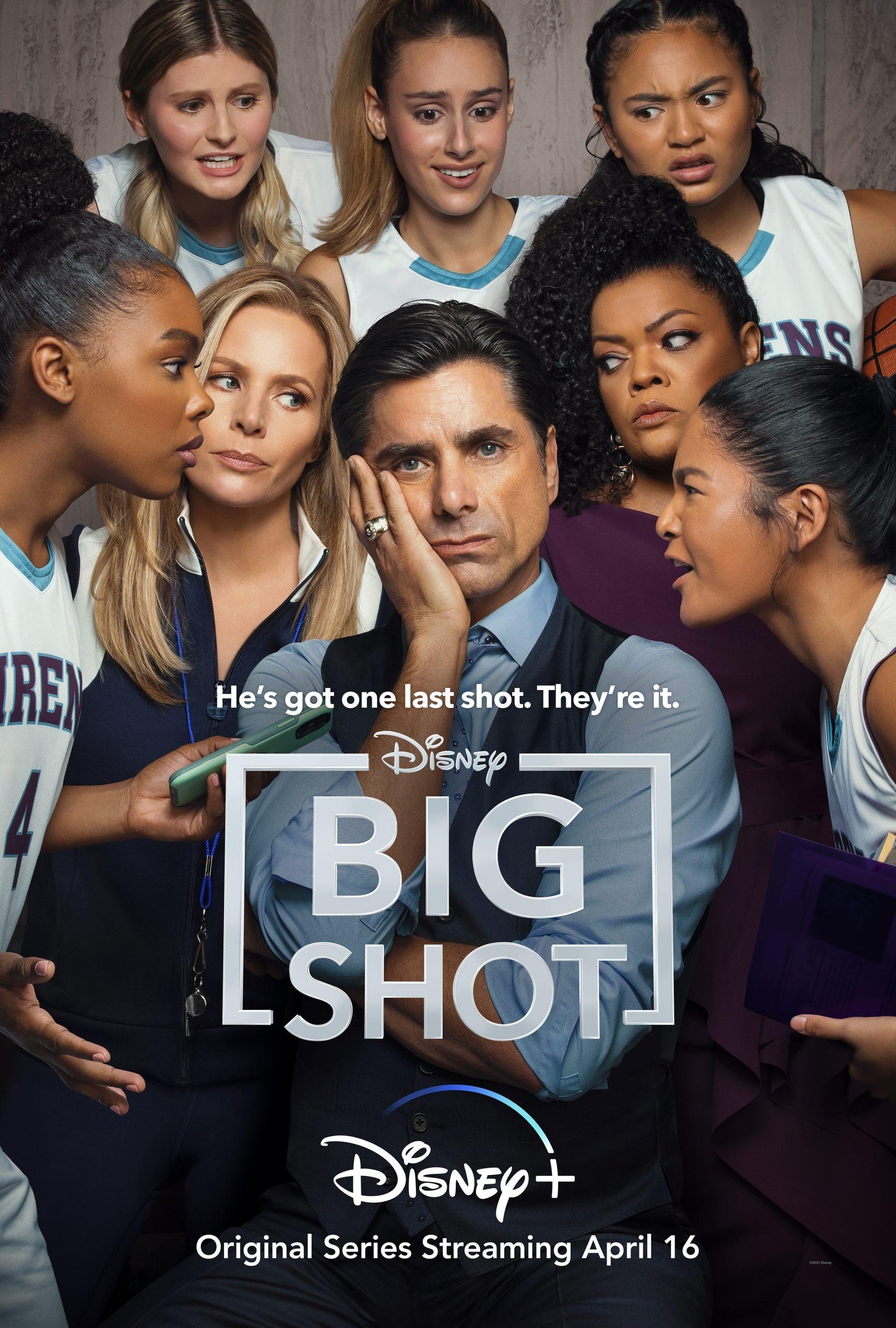 Disney + Original Series: 'Big Shot' Starring John Stamos