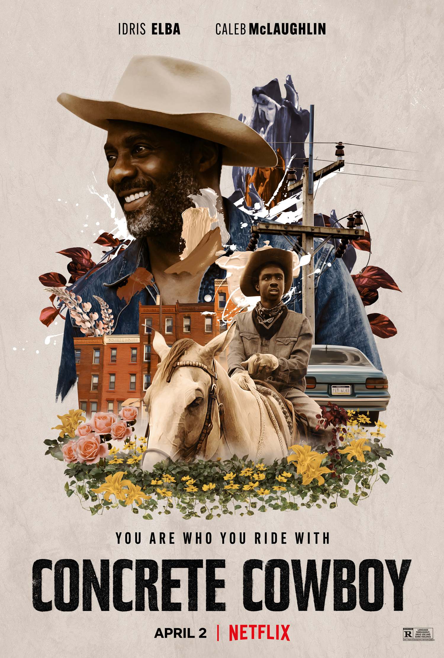 New Movie: Concrete Cowboy Starring Idris Elba And Caleb McLaughlin
