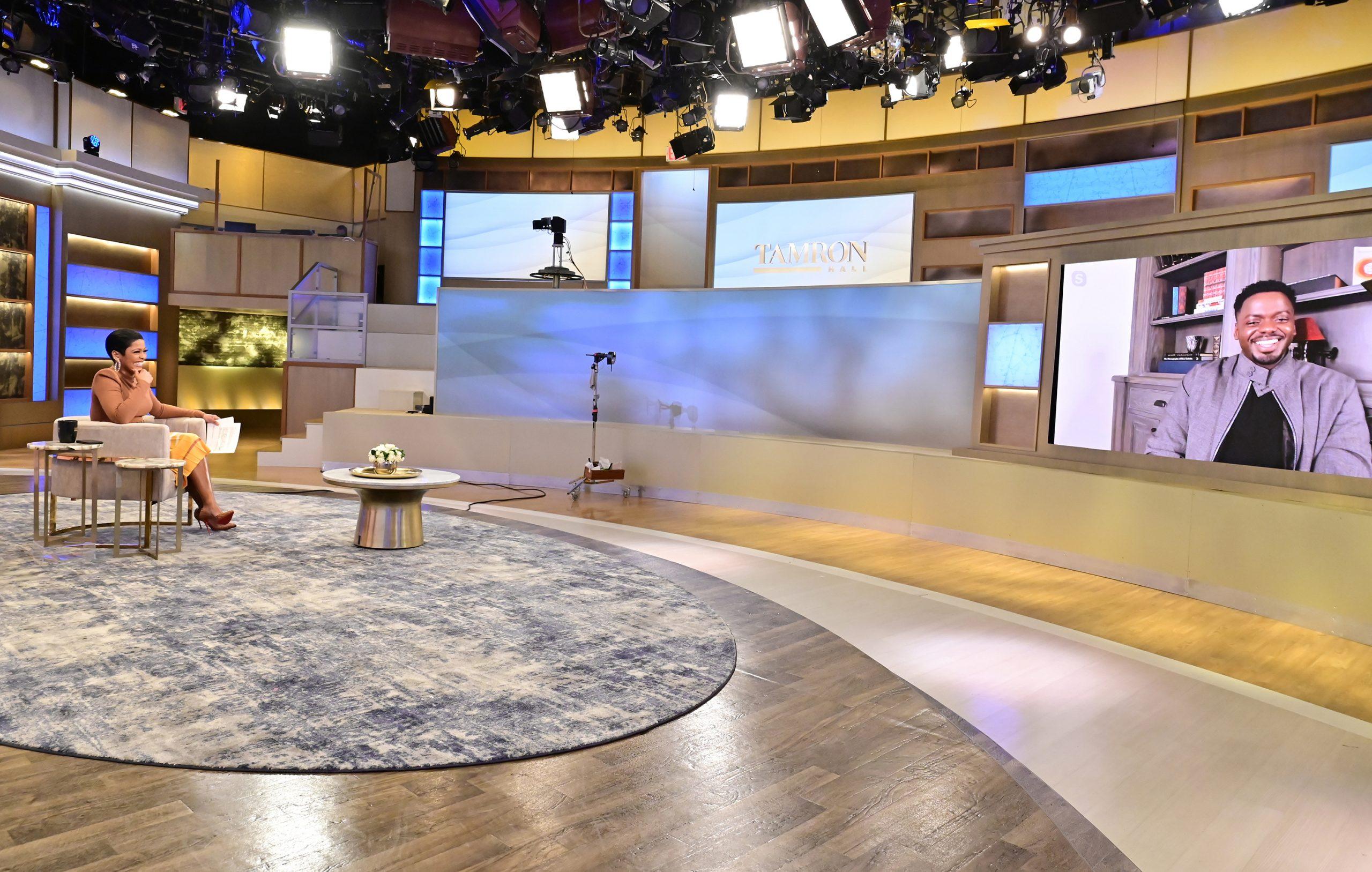 "Golden Globe Winner Daniel Kaluuya on Today's ""Tamron Hall"""