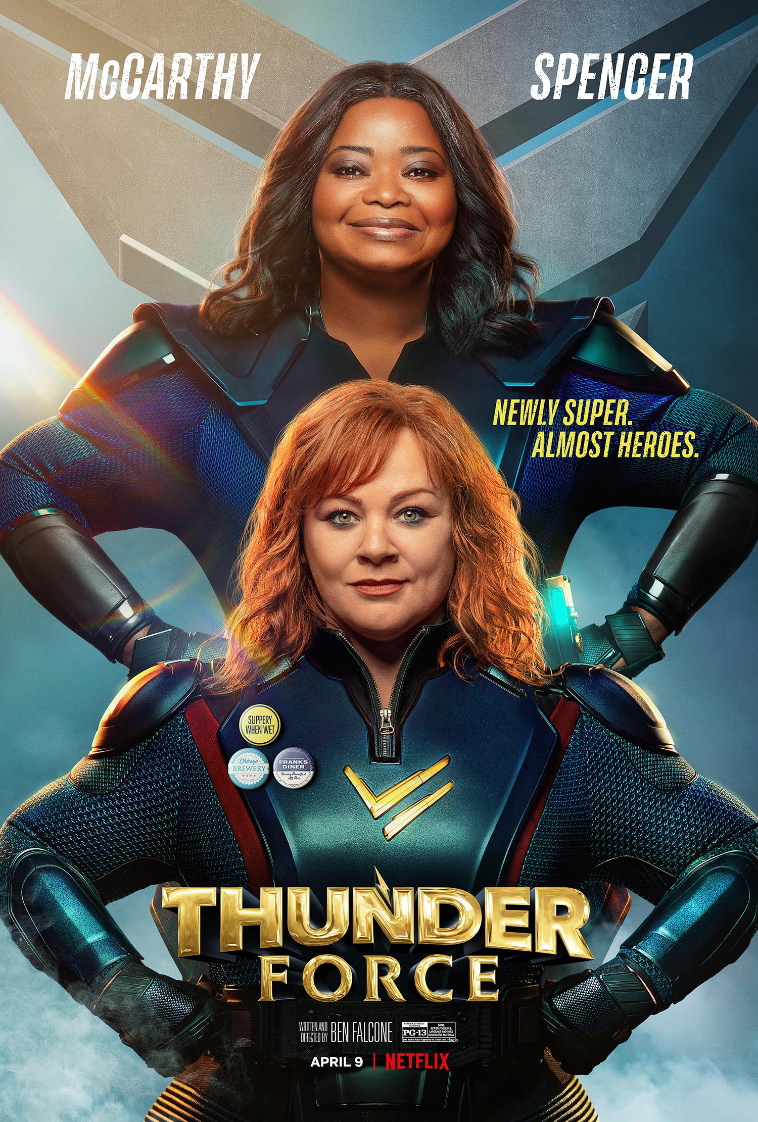 New Movie: Thunder Force Starring Octavia Spencer & Melissa McCarthy