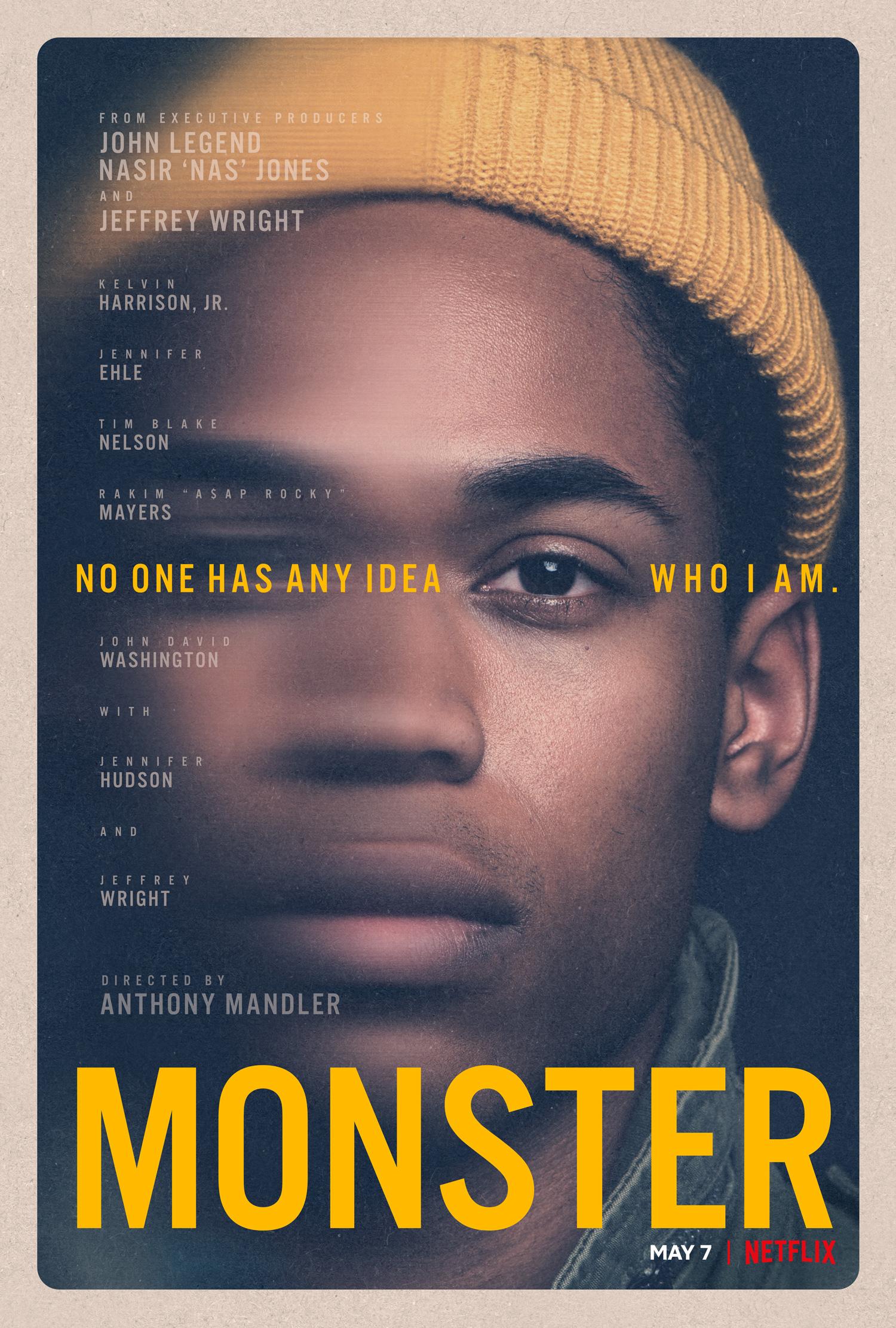 New Movie: Netflix's Monster Starring Kelvin Harrison, Jennifer Hudson