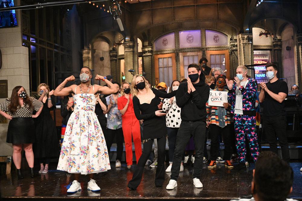 Wardrobe Breakdown: Kid Cudi On SNL