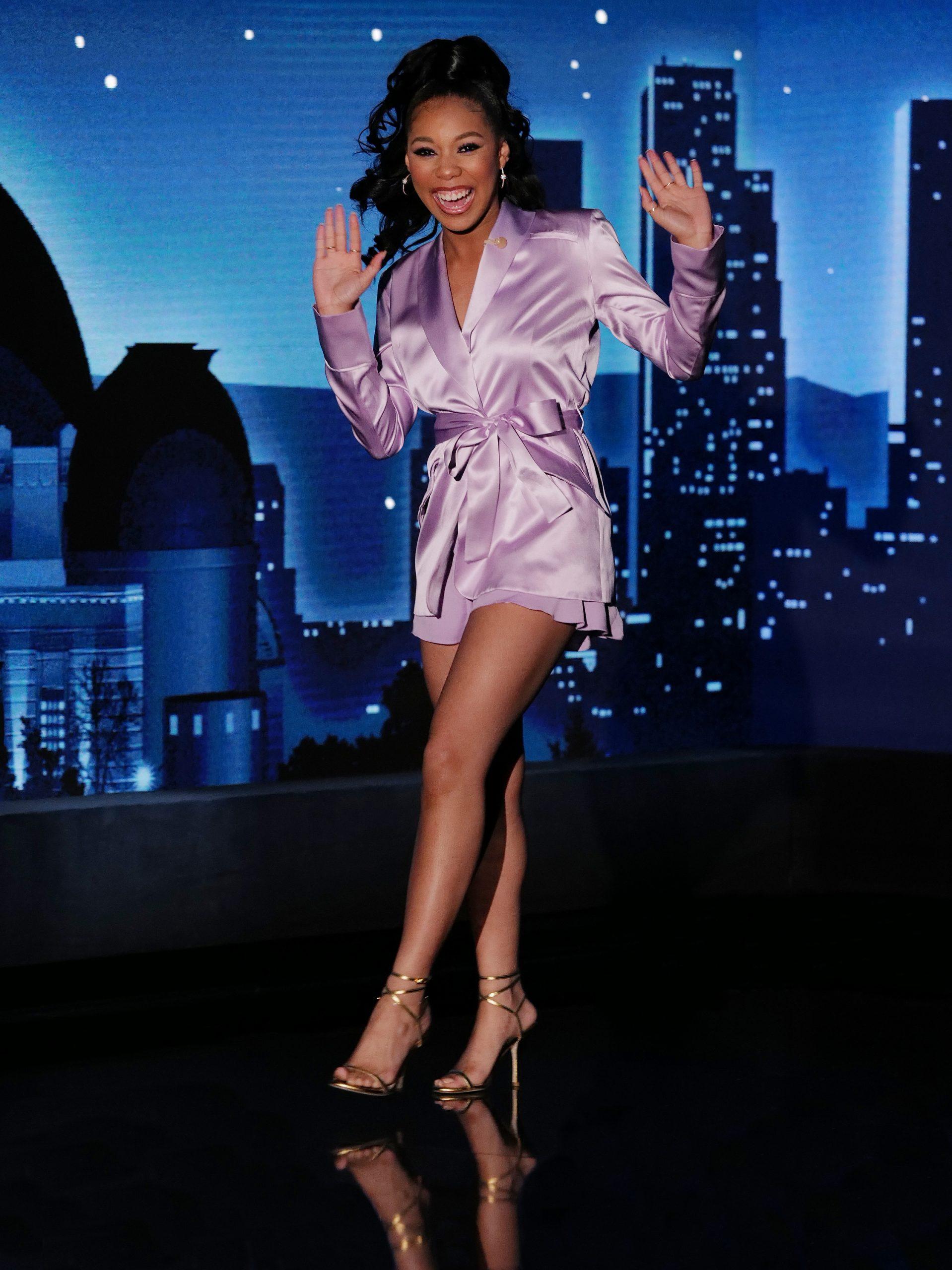 Wardrobe Breakdown: Kyla-Drew On Jimmy Kimmel Live