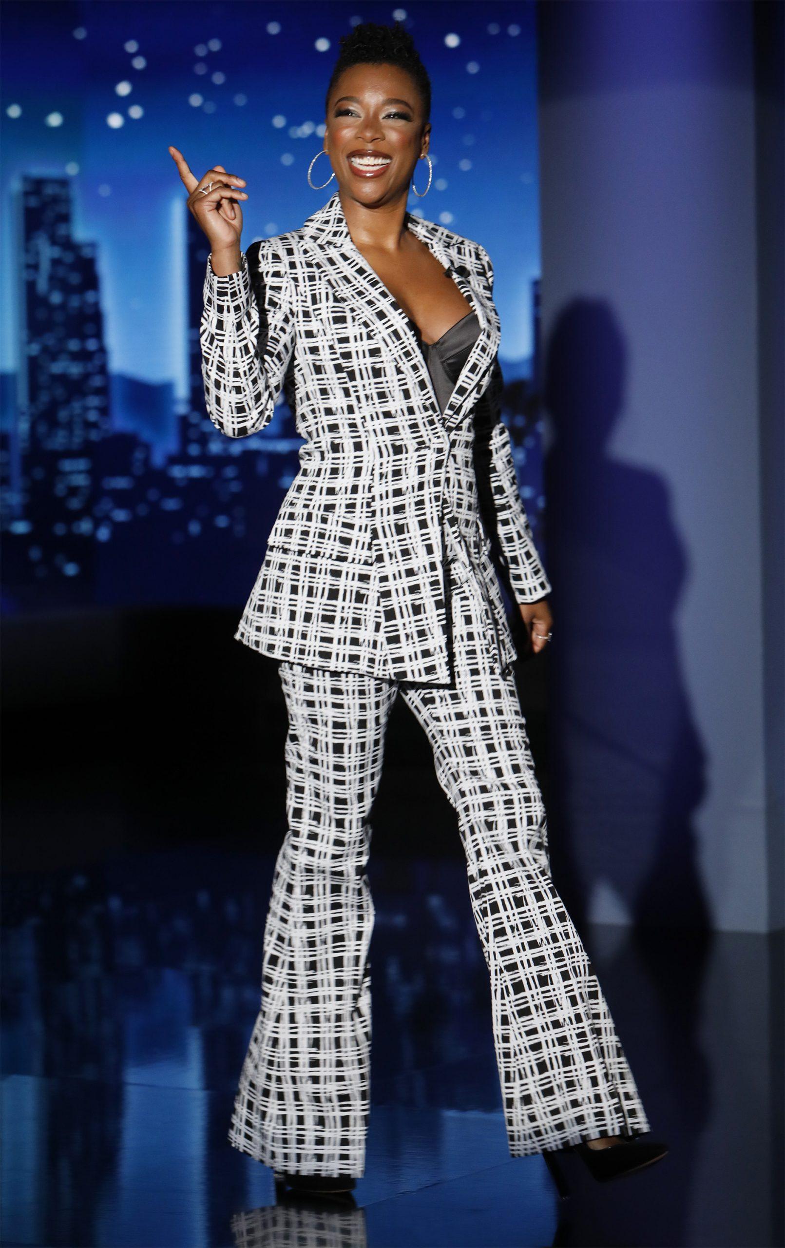Wardrobe Breakdown: Samira Wiley On Jimmy Kimmel Live