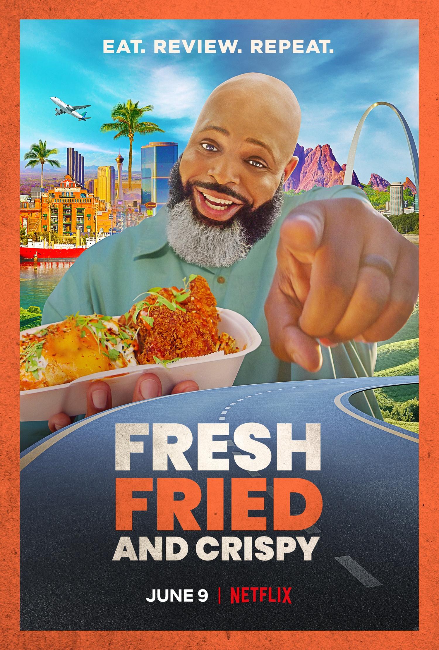 Netflix Series: Fresh Fried & Crispy Starring Daym Drops