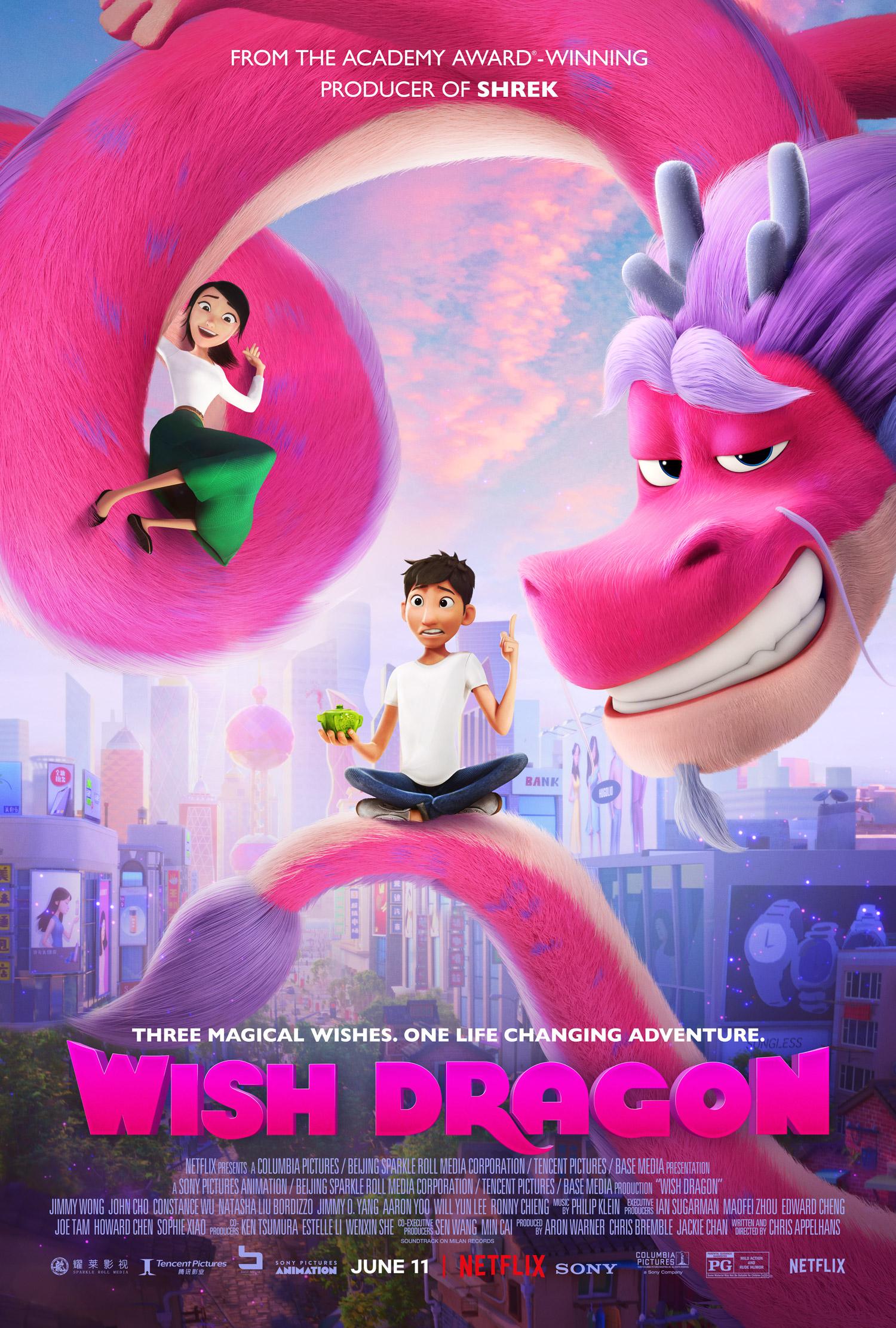 New Movie: Netflix's Wish Dragon Featuring John Cho