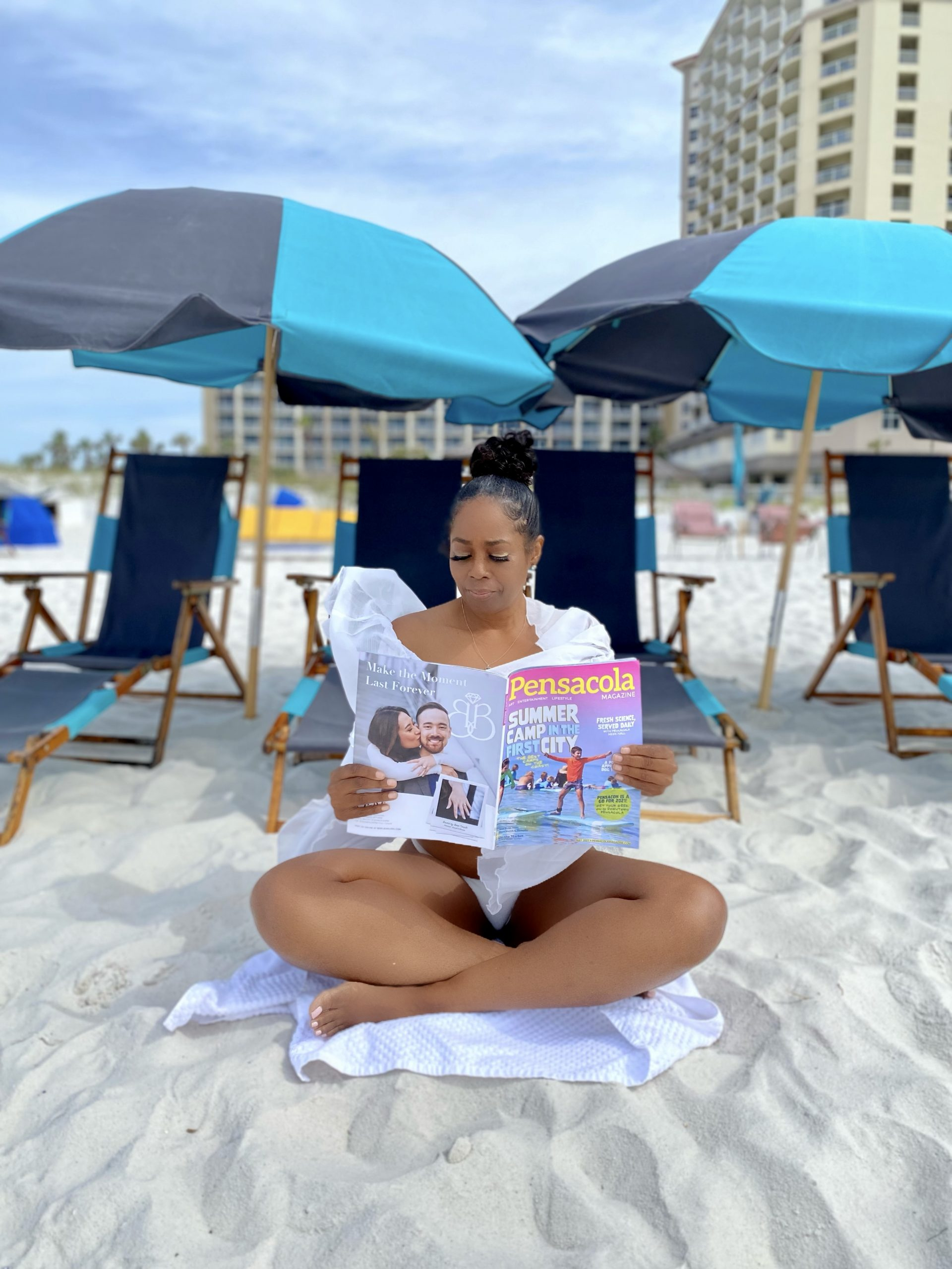 First Time Visiting Pensacola Beach Florida, How Relaxing!