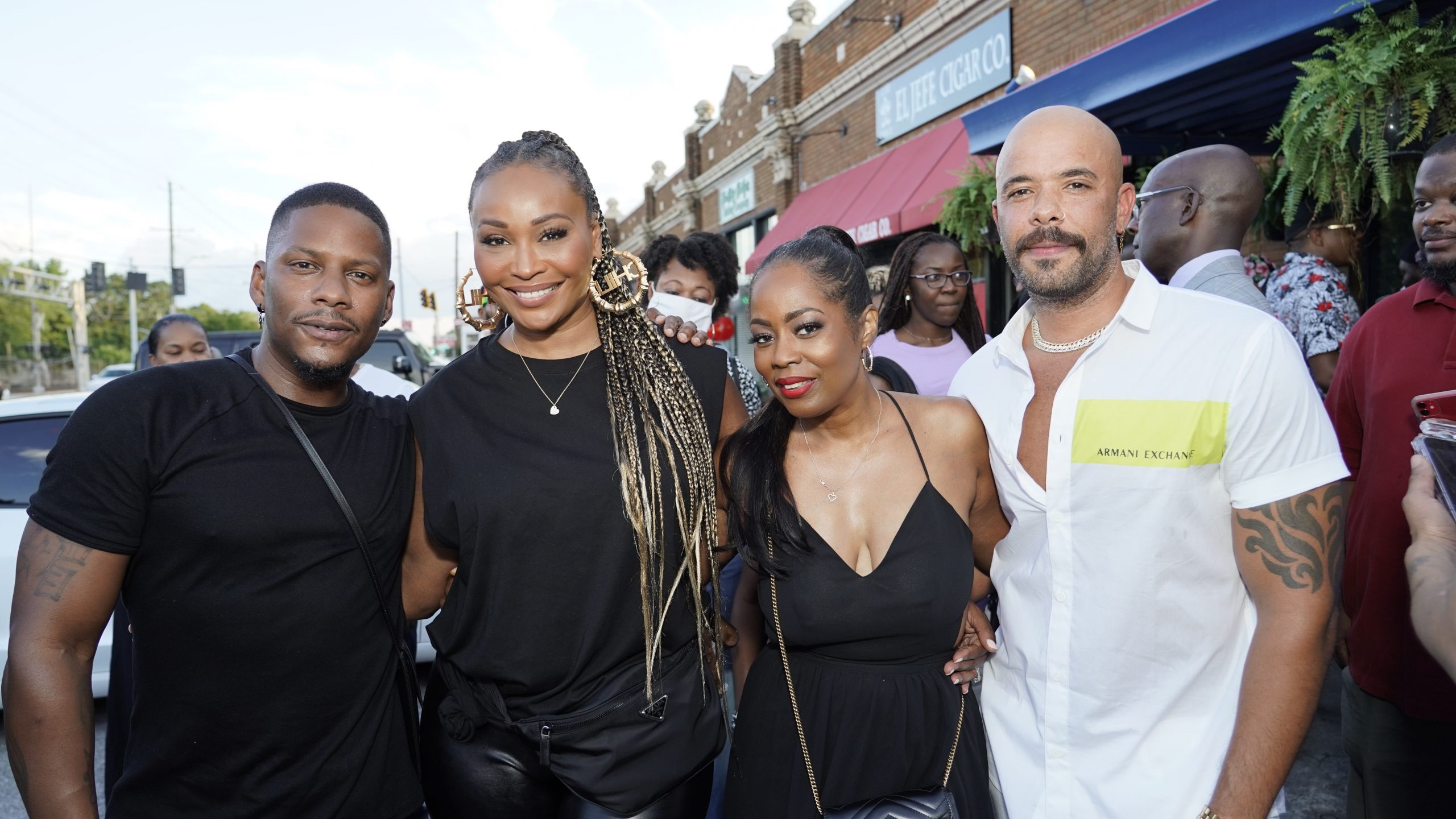 Photos: Grand Opening Of The Breakfast Boys Hosted By Cynthia Bailey