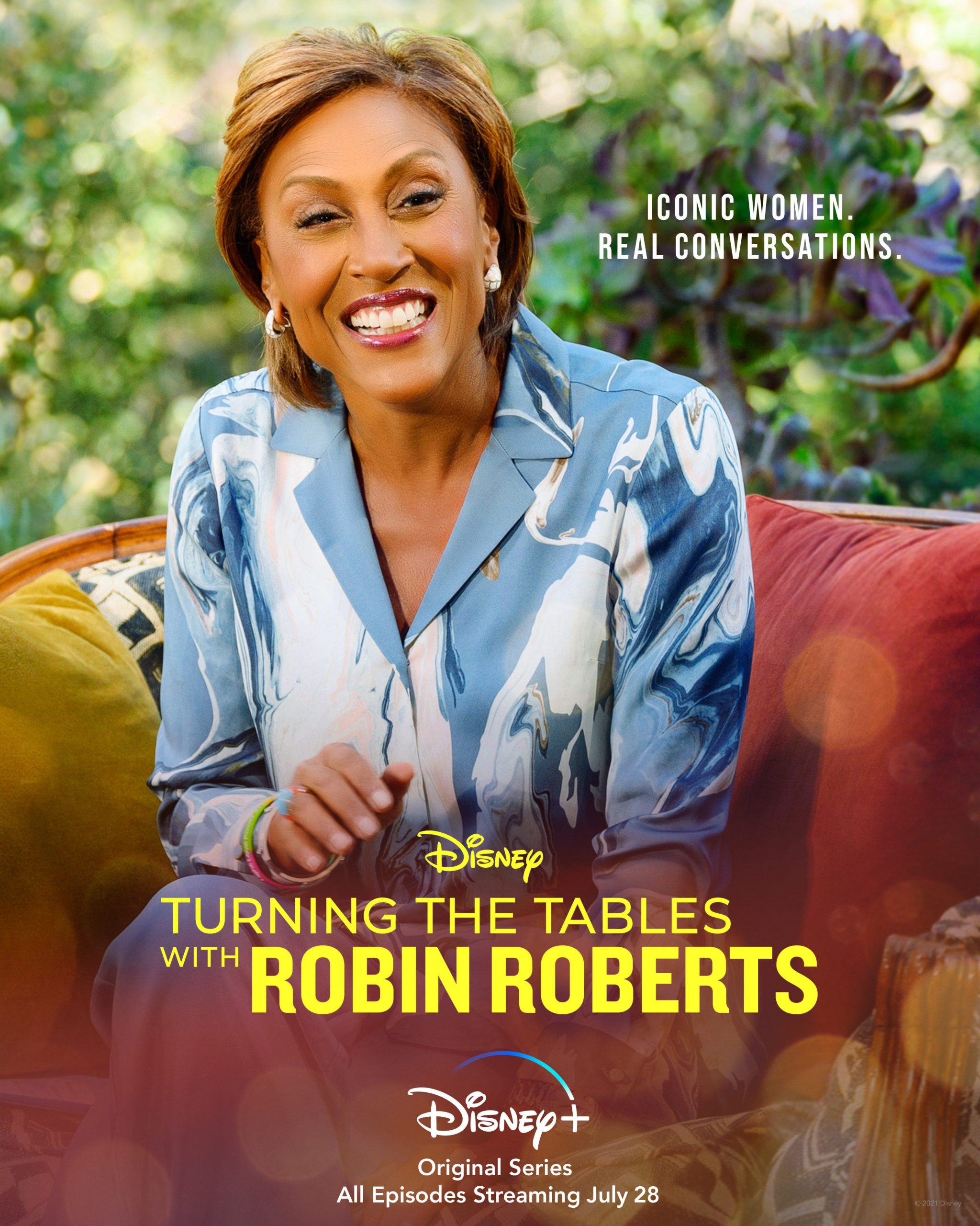 New Series: Turning The Tables With Robin Roberts On Disney +