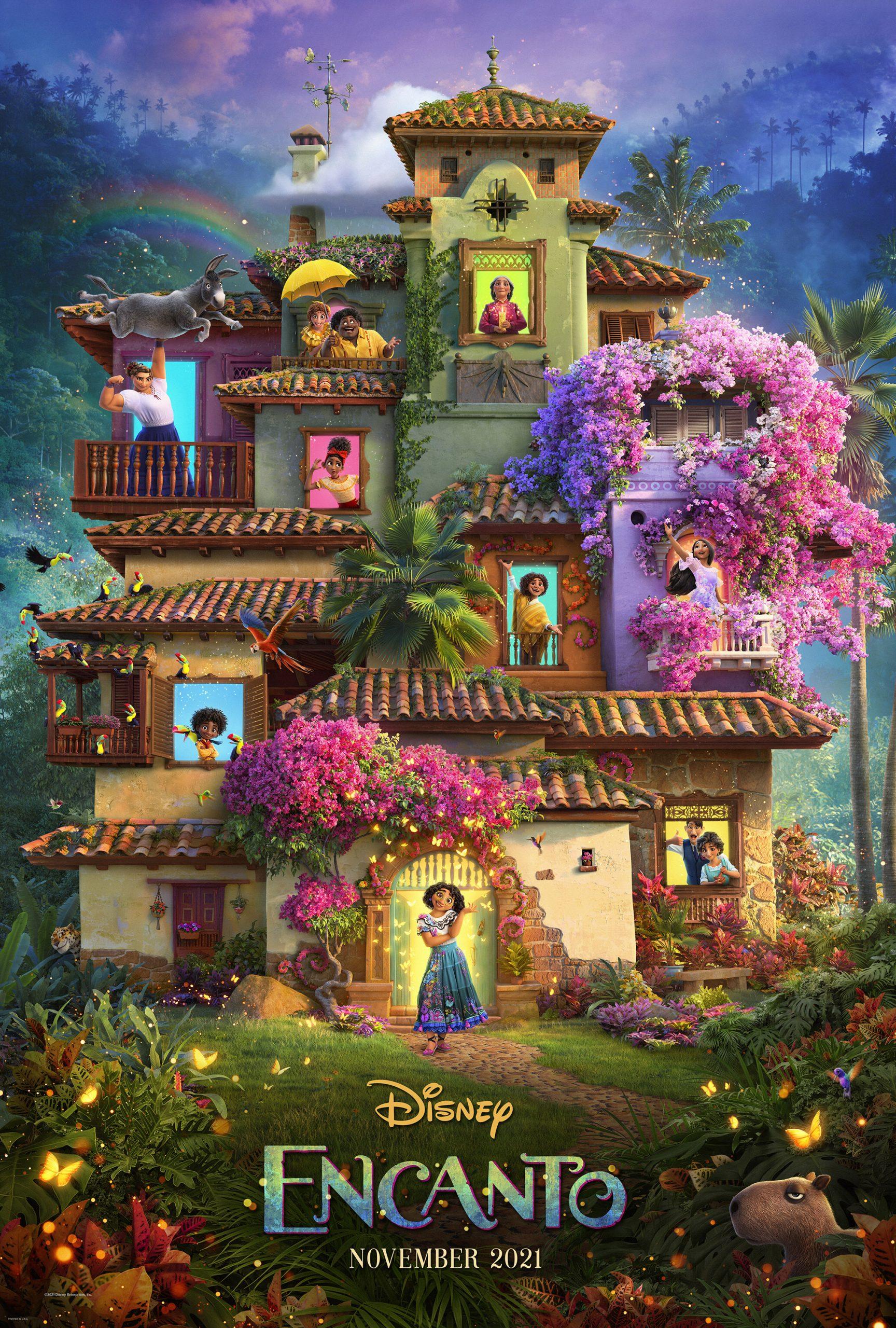 New Movie: Disney Encanto Starring Stephanie Beatriz