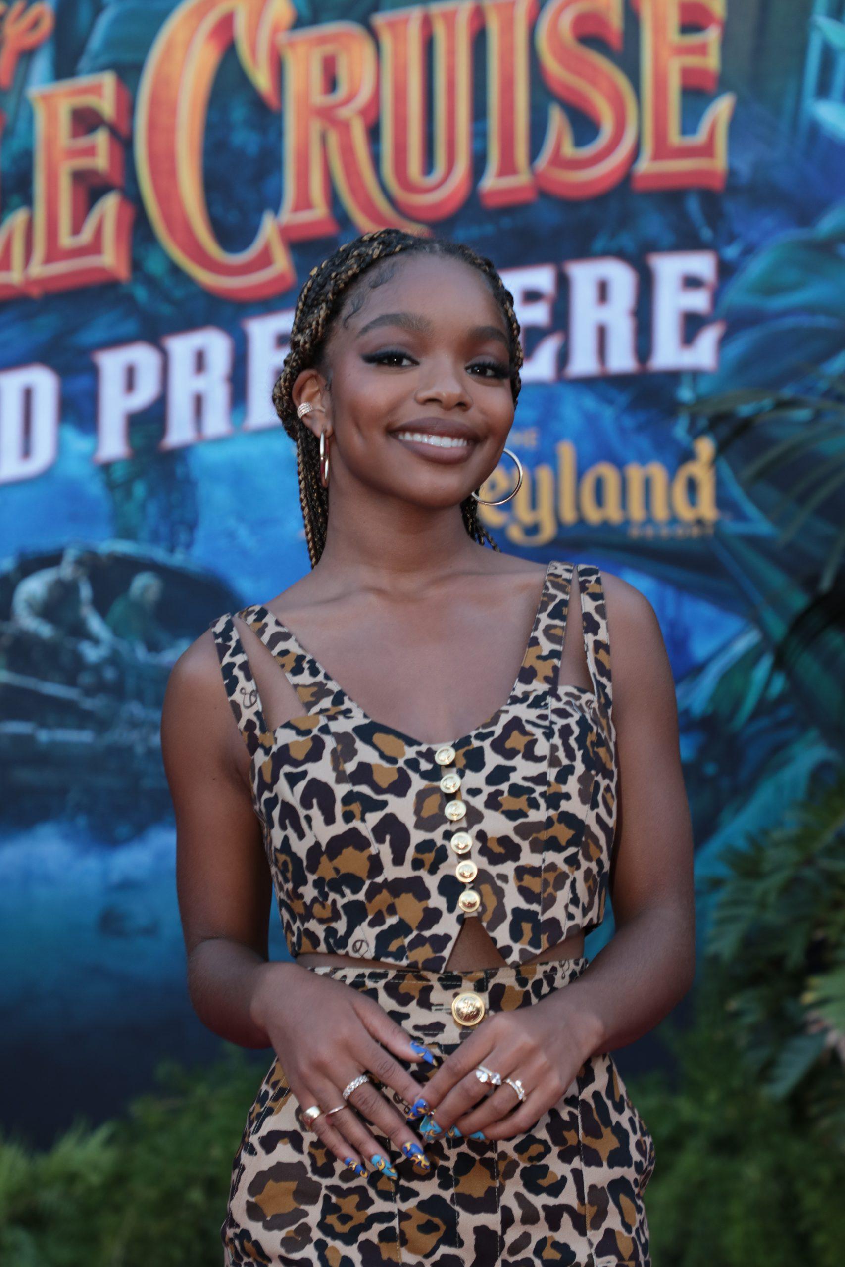 Wardrobe Breakdown: Marsai Martin At Disney Jungle Cruise Premiere