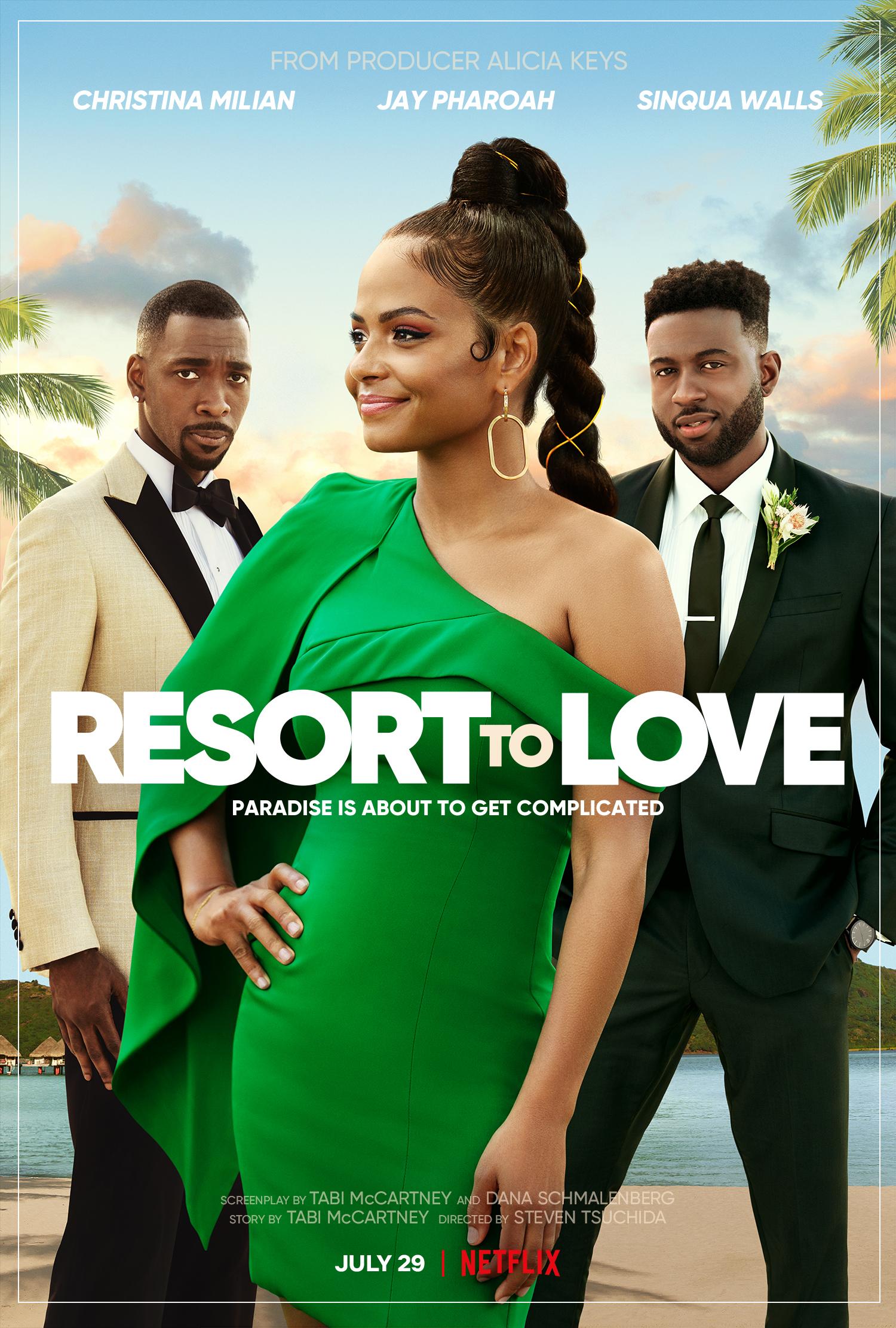 New Movie: Netflix's Resort To Love Starring Christina Milian
