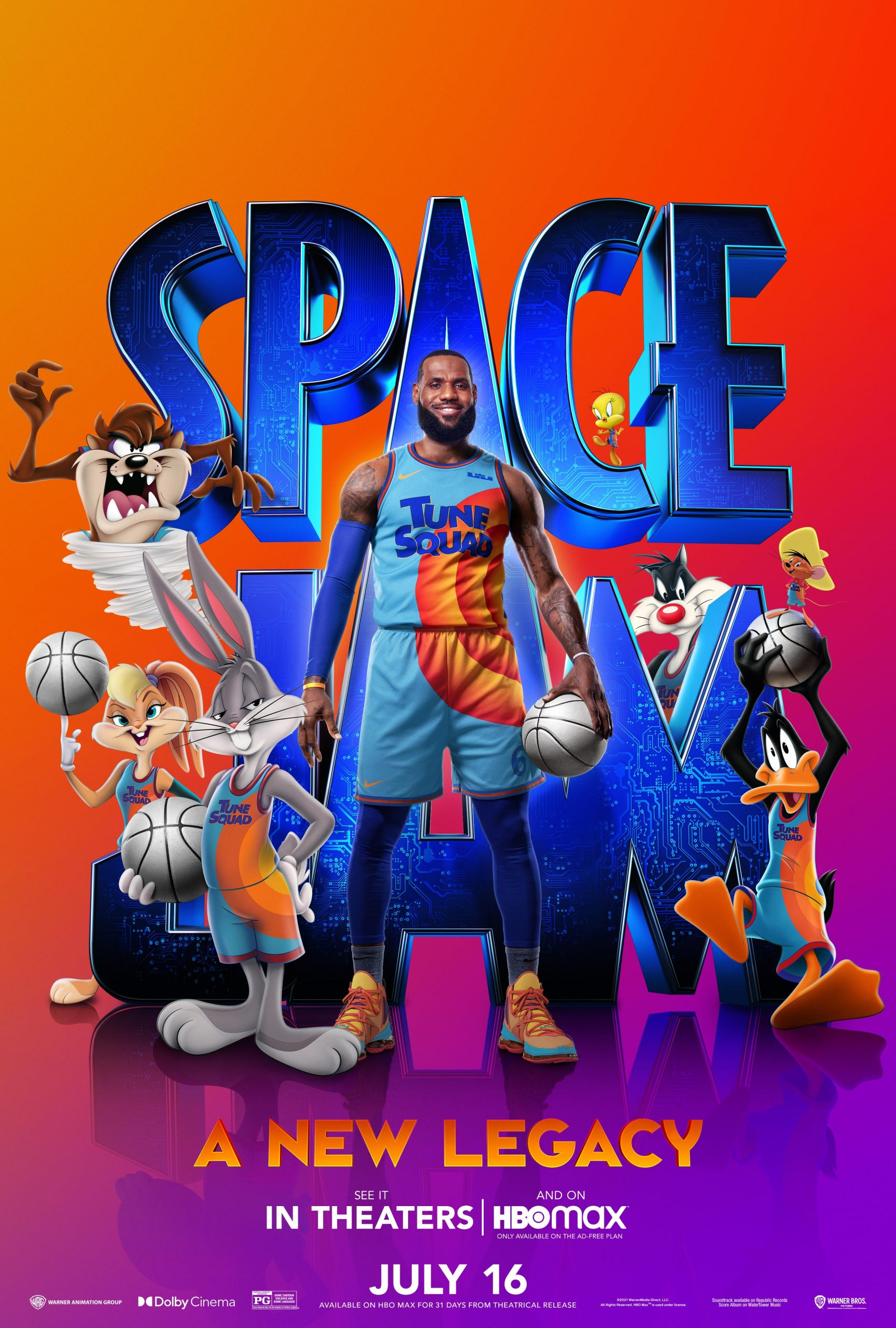 New Movie: Space Jam A New Legacy Starring LeBron James