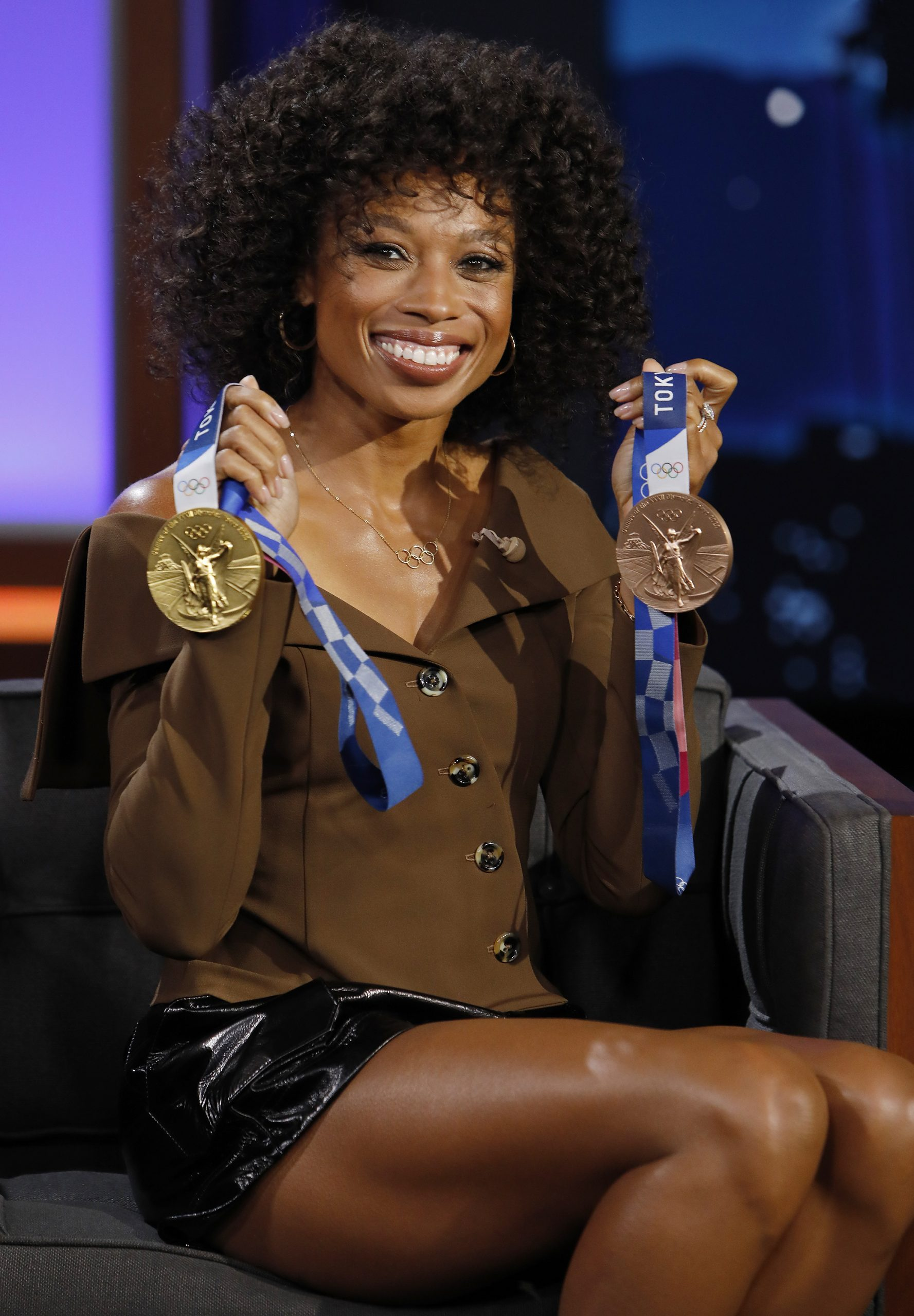 In Case You Missed It: Olympic Gold Medalist Allyson Felix On 'Jimmy Kimmel Live'