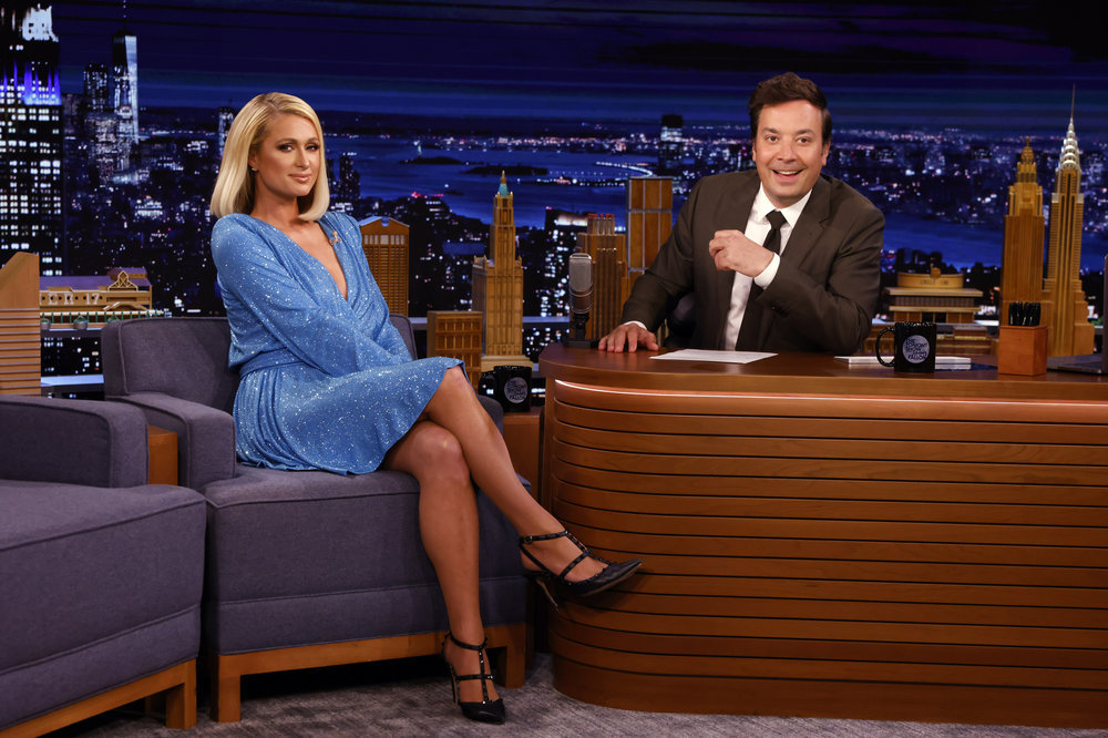 In Case You Missed It: Paris Hilton On Jimmy Fallon