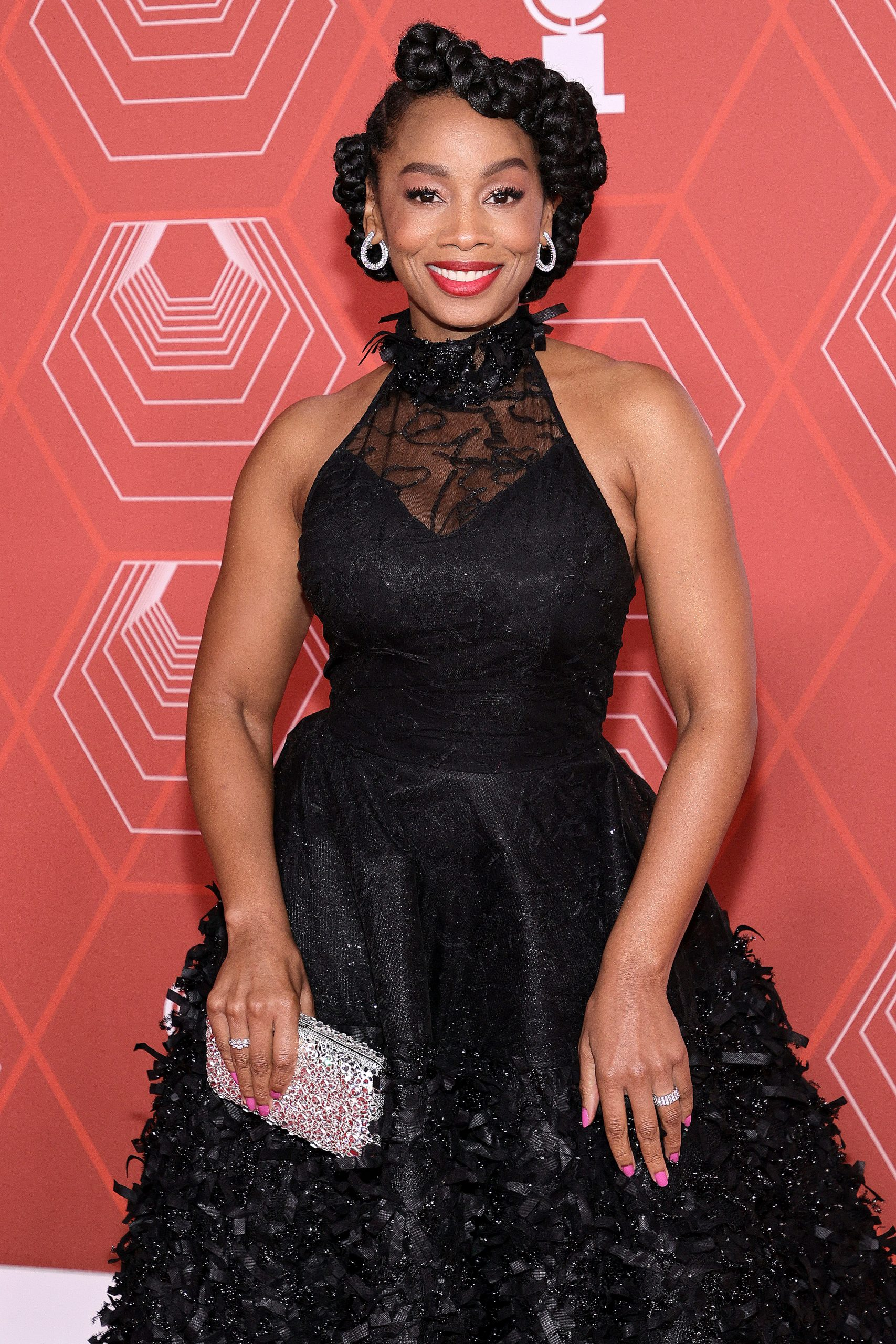 Wardrobe Breakdown: Anika Noni Rose At Tony Awards In NYC