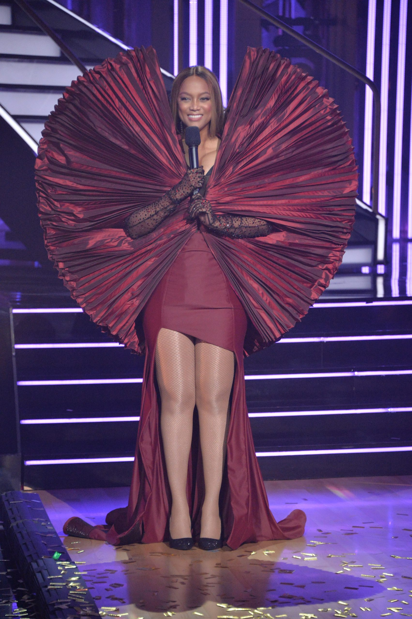 Wardrobe Breakdown: Tyra Banks On Dancing With The Stars