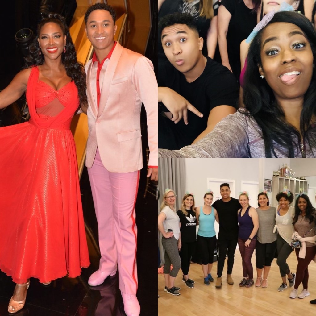 How Cool! Kenya Moore And I Shared The Same Dance Pro, Brian Armstrong