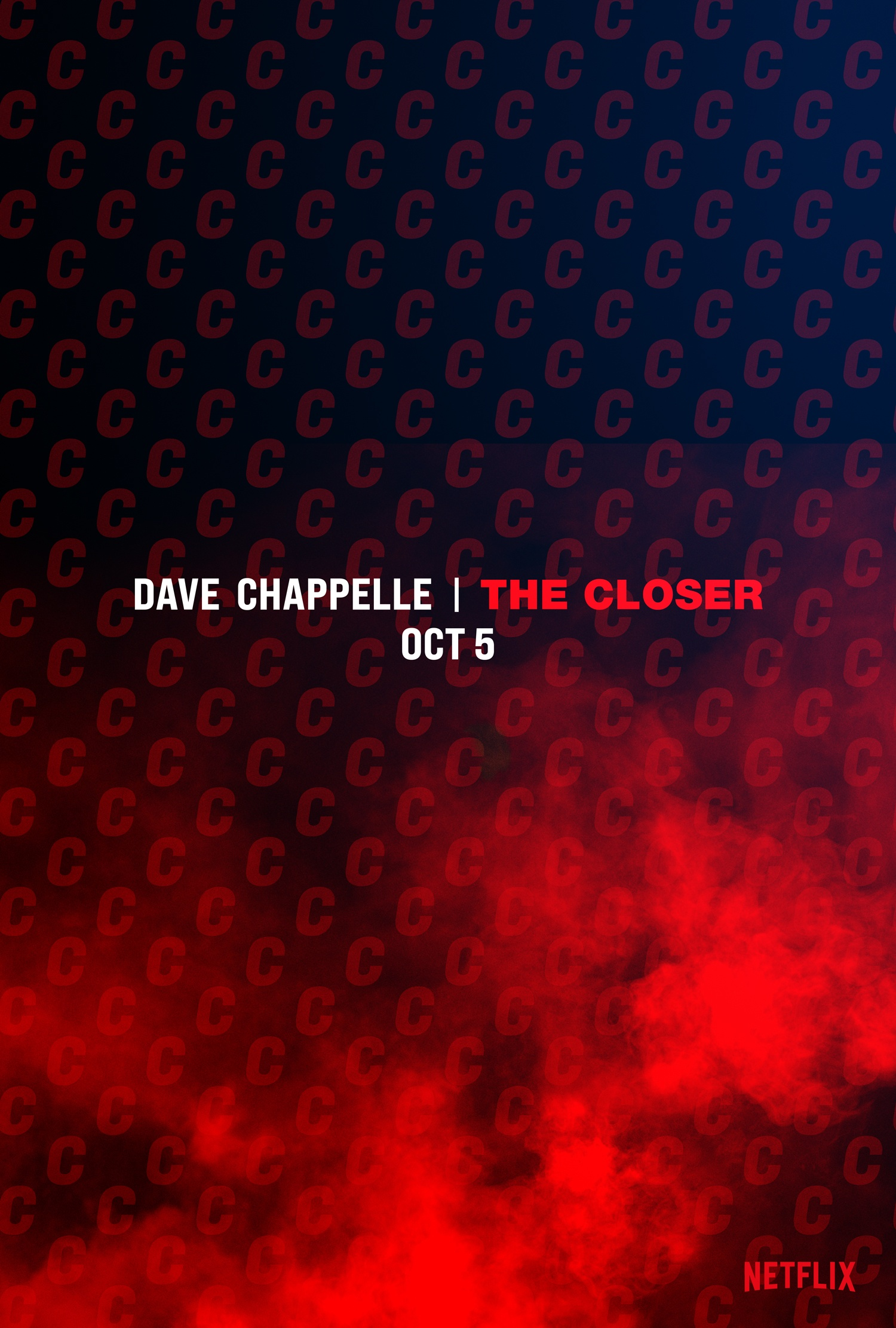Netflix Announces Dave Chappelle's  Newest Comedy Special, The Closer