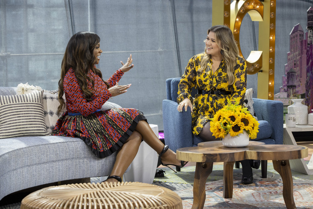 In Case You Missed It: Kandi Burruss On 'The Kelly Clarkson Show'
