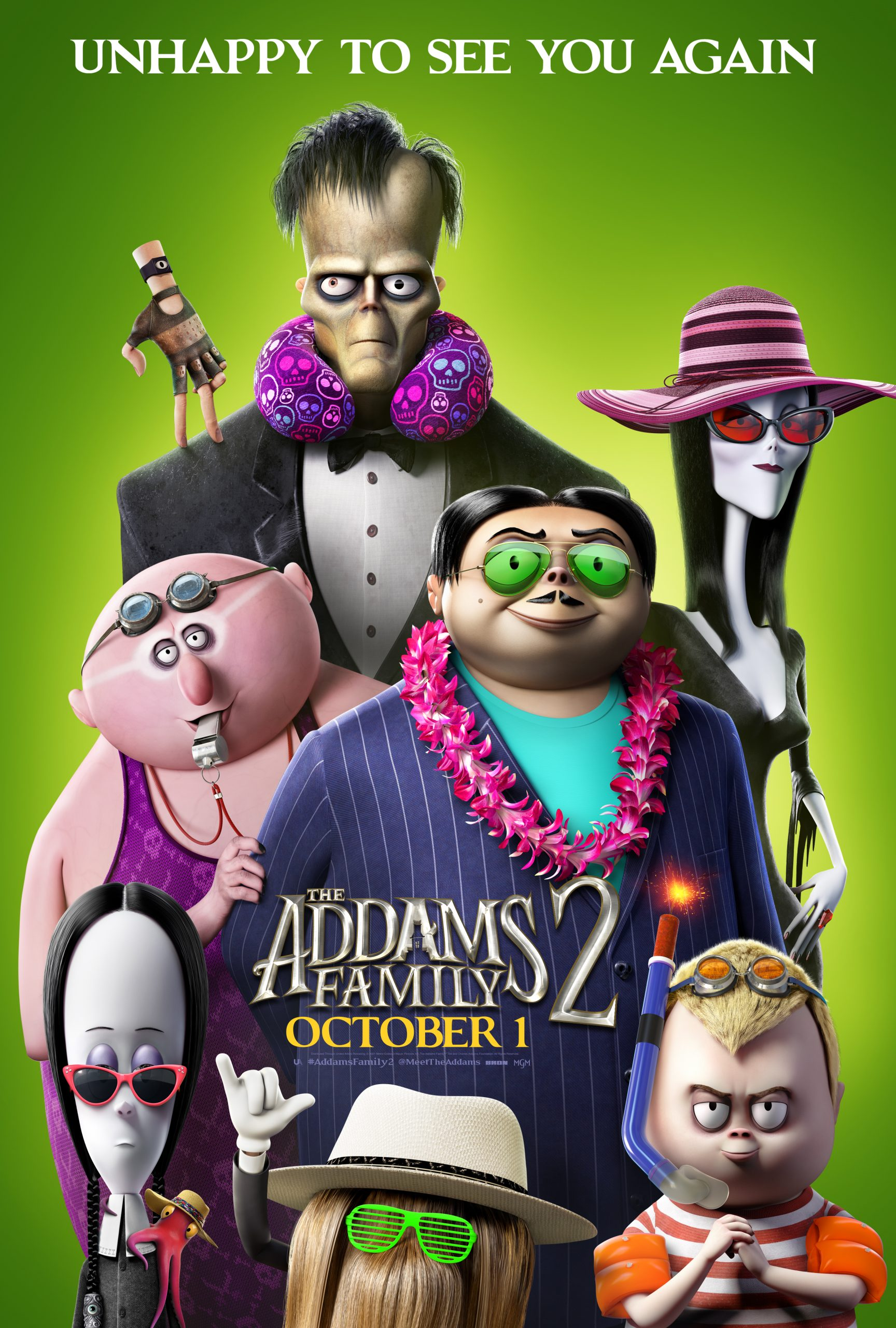 New Movie: The Addams Family 2 Starring Charlize Theron, Snoop Dogg
