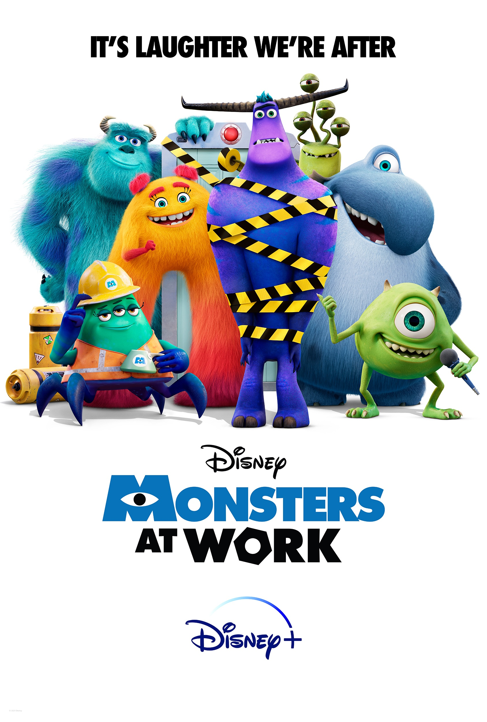 """All Episodes Of The Disney+ Original Series """"Monsters At Work"""" Now Streaming"""