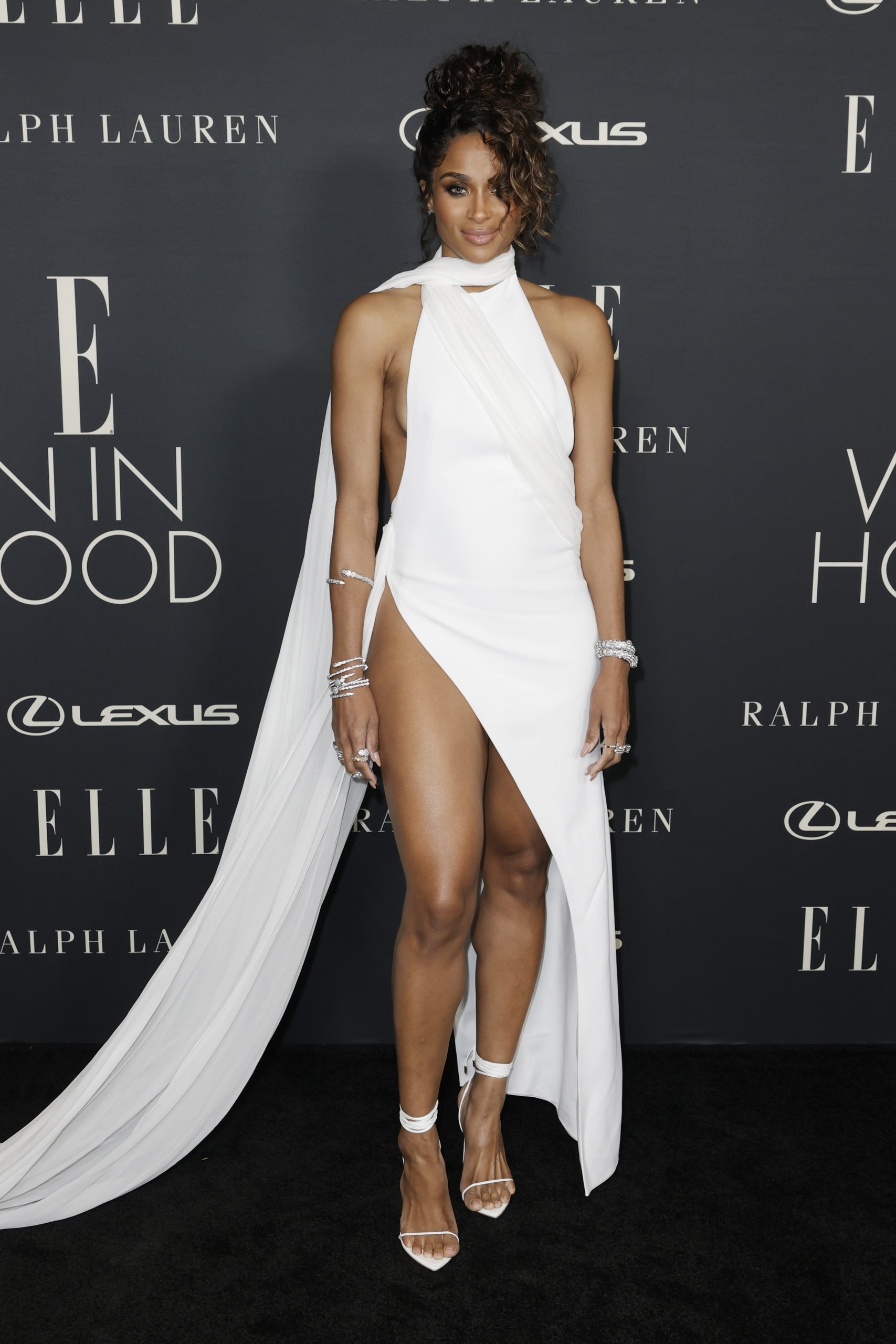 Ciara At Wardrobe Breakdown: Ciara At 27th Annual ELLE Women in Hollywood Celebration