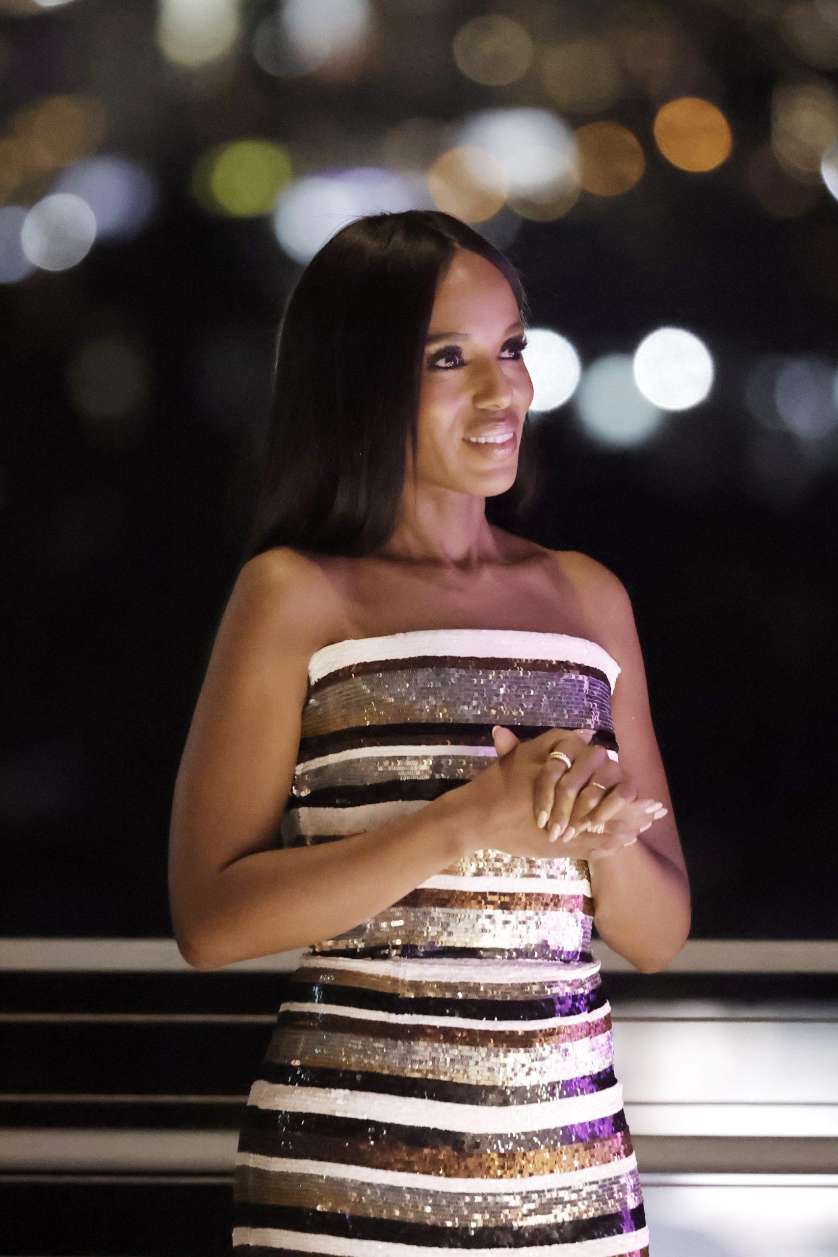 Wardrobe Breakdown: Kerry Washington At 27th Annual ELLE Women in Hollywood Celebration