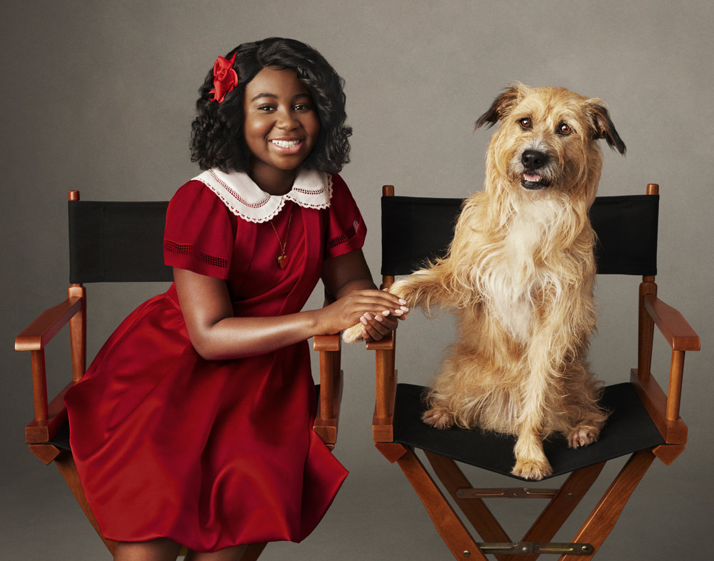 First Look Photos Of Celina Smith And Taraji P. Henson In ANNIE LIVE!