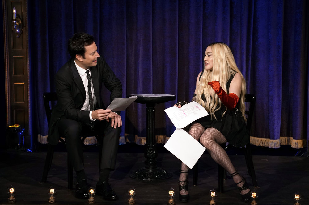 In Case You Missed It: Madonna On 'The Tonight Show Starring Jimmy Fallon'